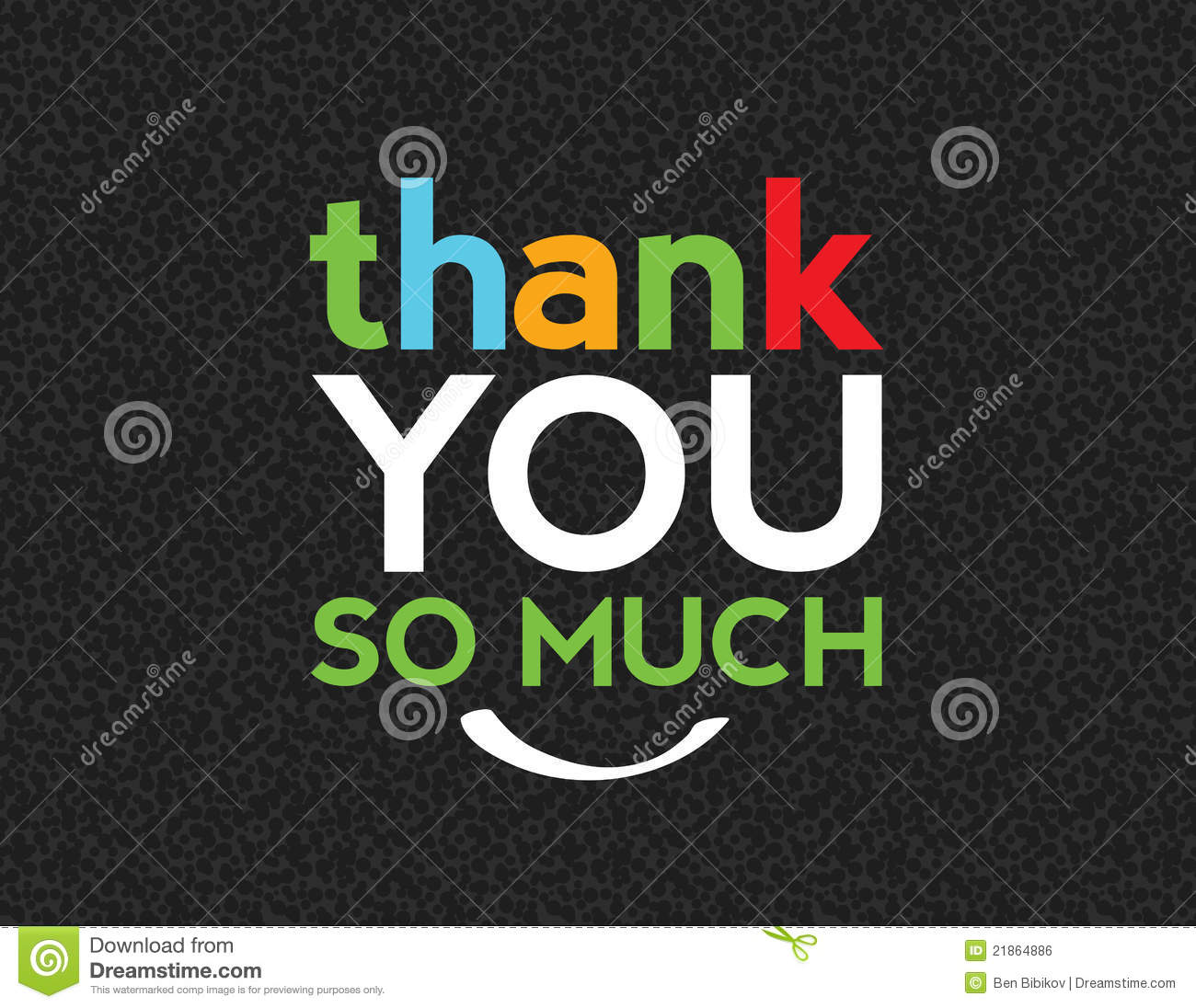 Thank you message for cards notes or other works
