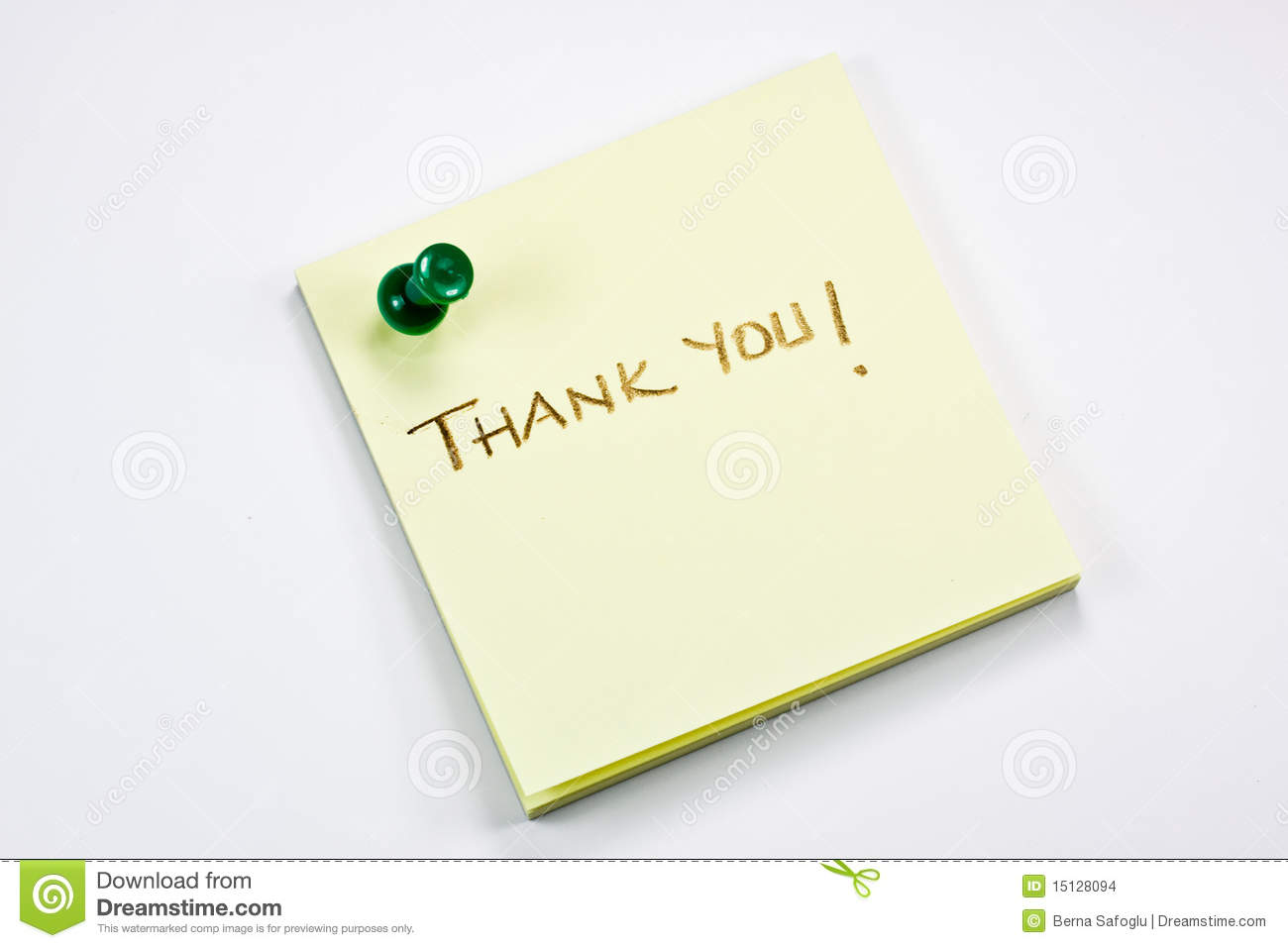 Thank you note for stock options