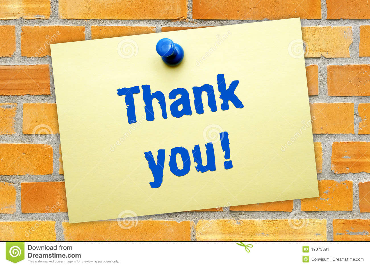 thank you note stock image image 19073881 thank you note