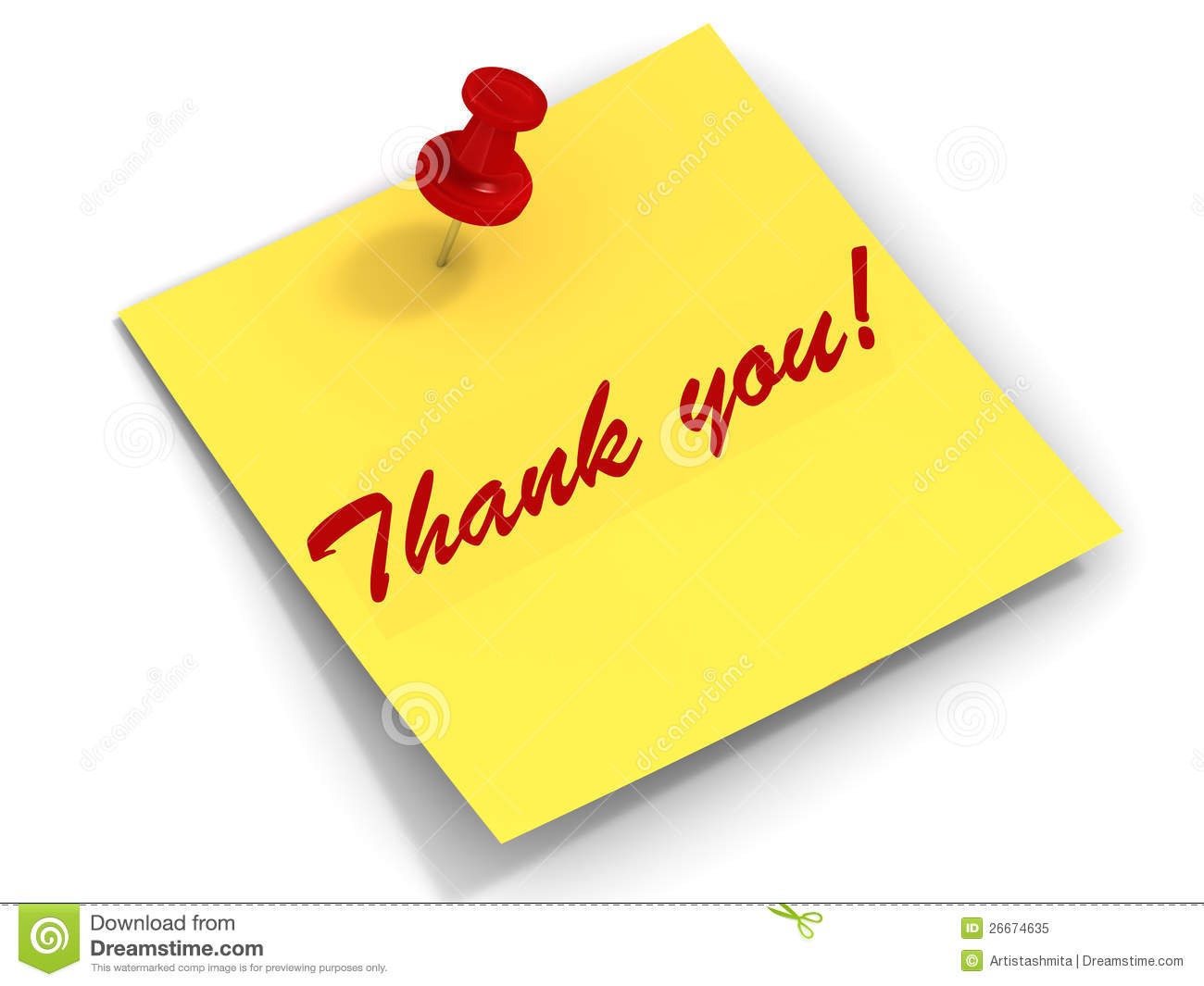 thank you note royalty stock photo image 26674635 thank you note