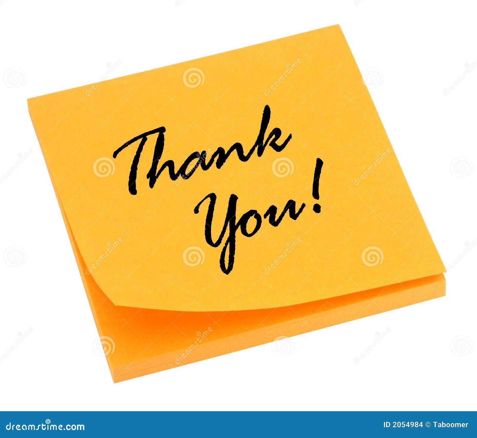 thank you orange stock photo image of close bright notes 2054984