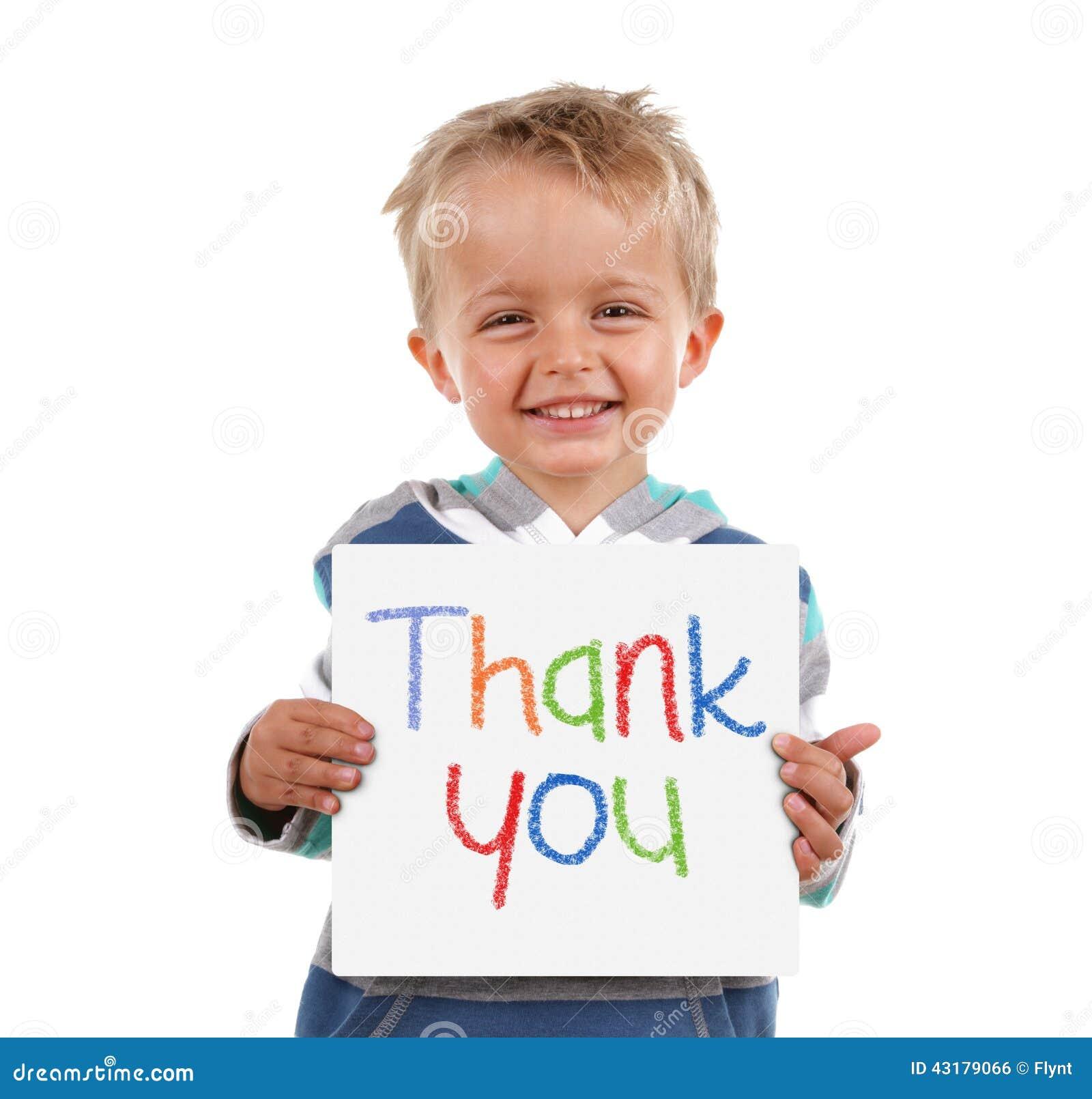 Фото детей с надписью спасибо
