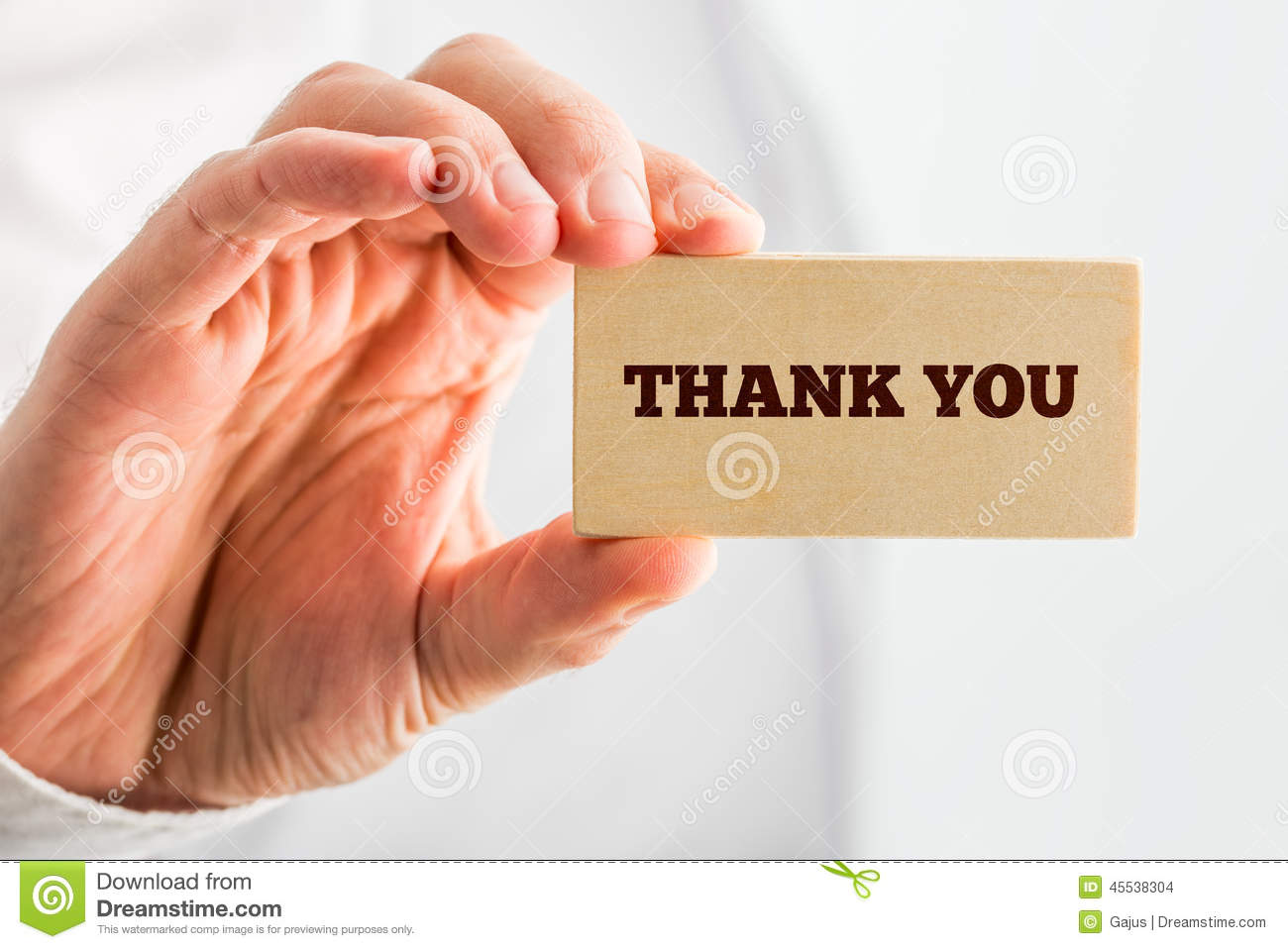 Thank You Hand Writing With A Blue Mark On A Transparent ...