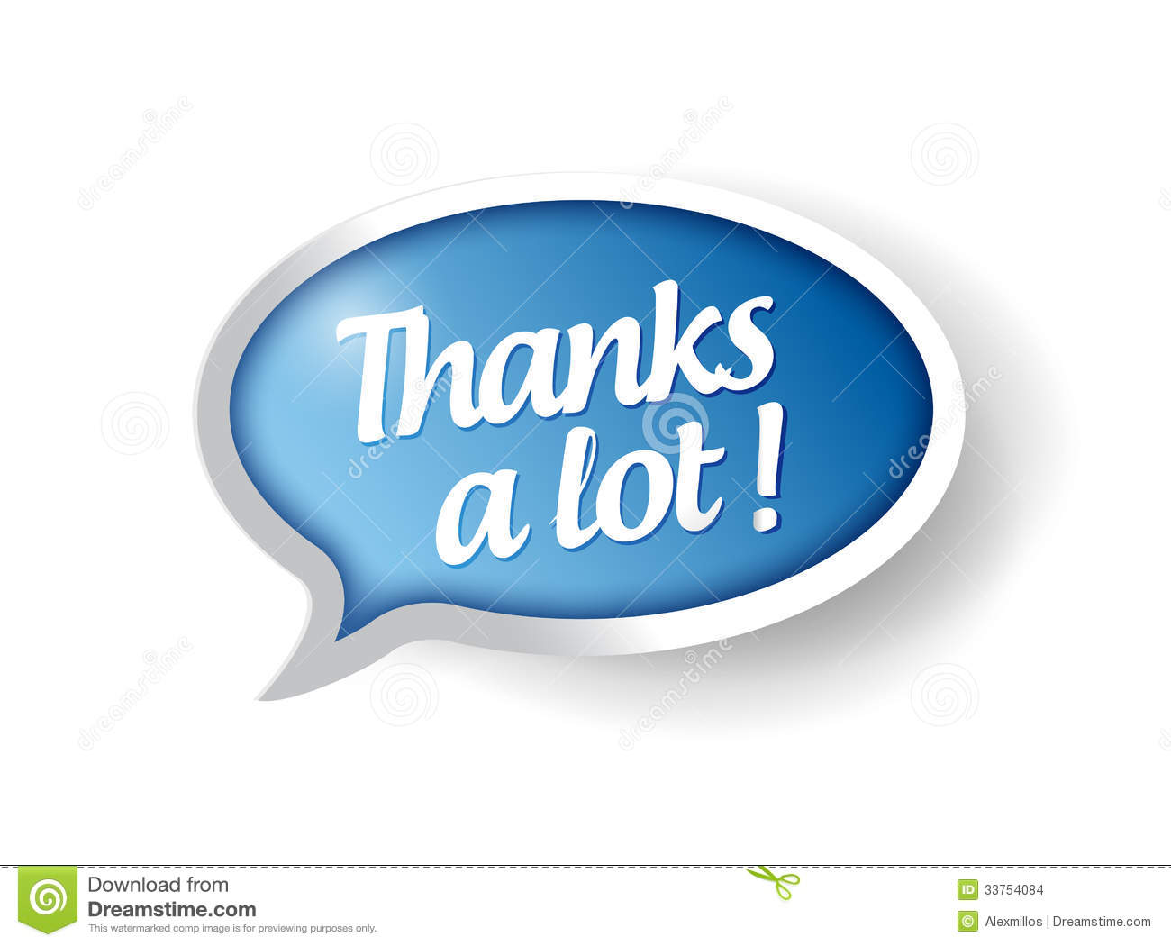 thanks a lot message bubble illustration stock images sign in clip art free stop sign in clipart