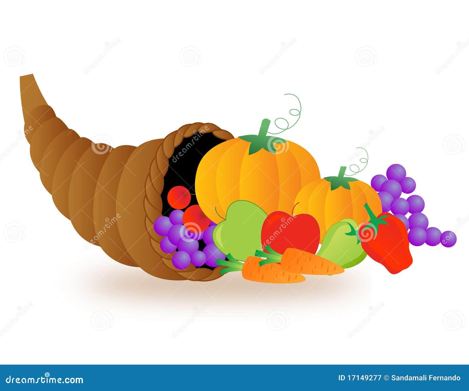 Thanksgiving Basket Royalty Free Stock Photography Image