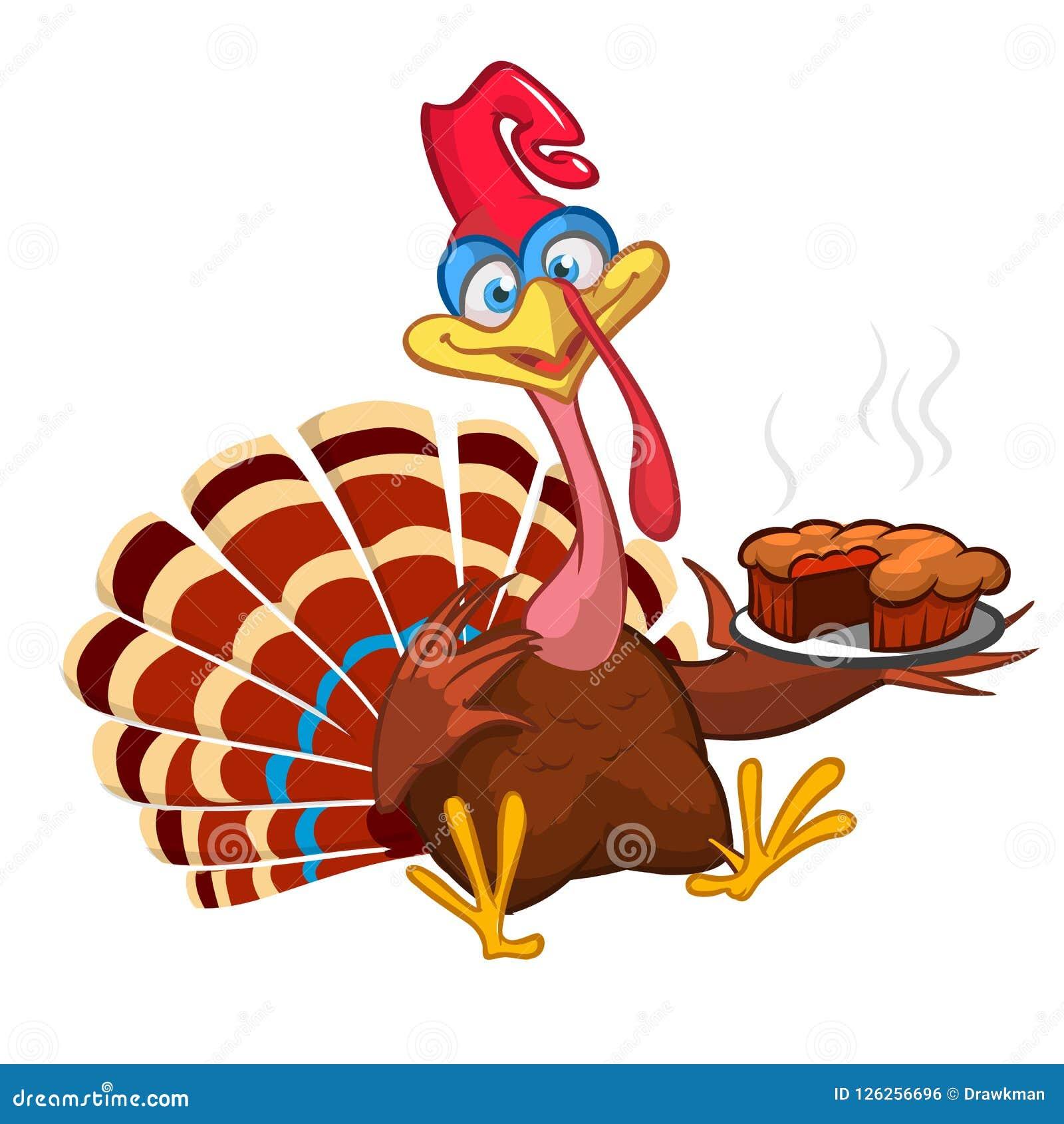 Thanksgiving cartoon turkey bird greeting card vector illustration download thanksgiving cartoon turkey bird greeting card vector illustration of funny turkey character clipart m4hsunfo