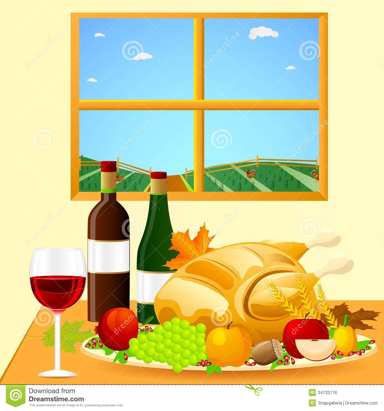 Thanksgiving dinner images pictures