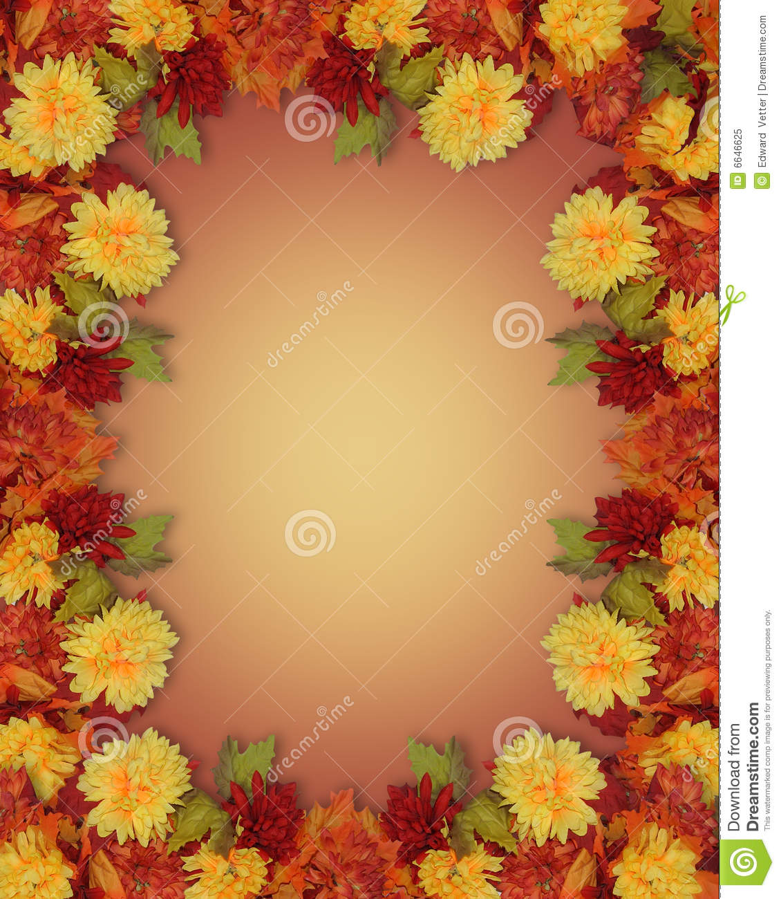 Beautiful christmas bells royalty free stock - Image And Illustration Composition Mums For Thanksgiving Fall Autumn