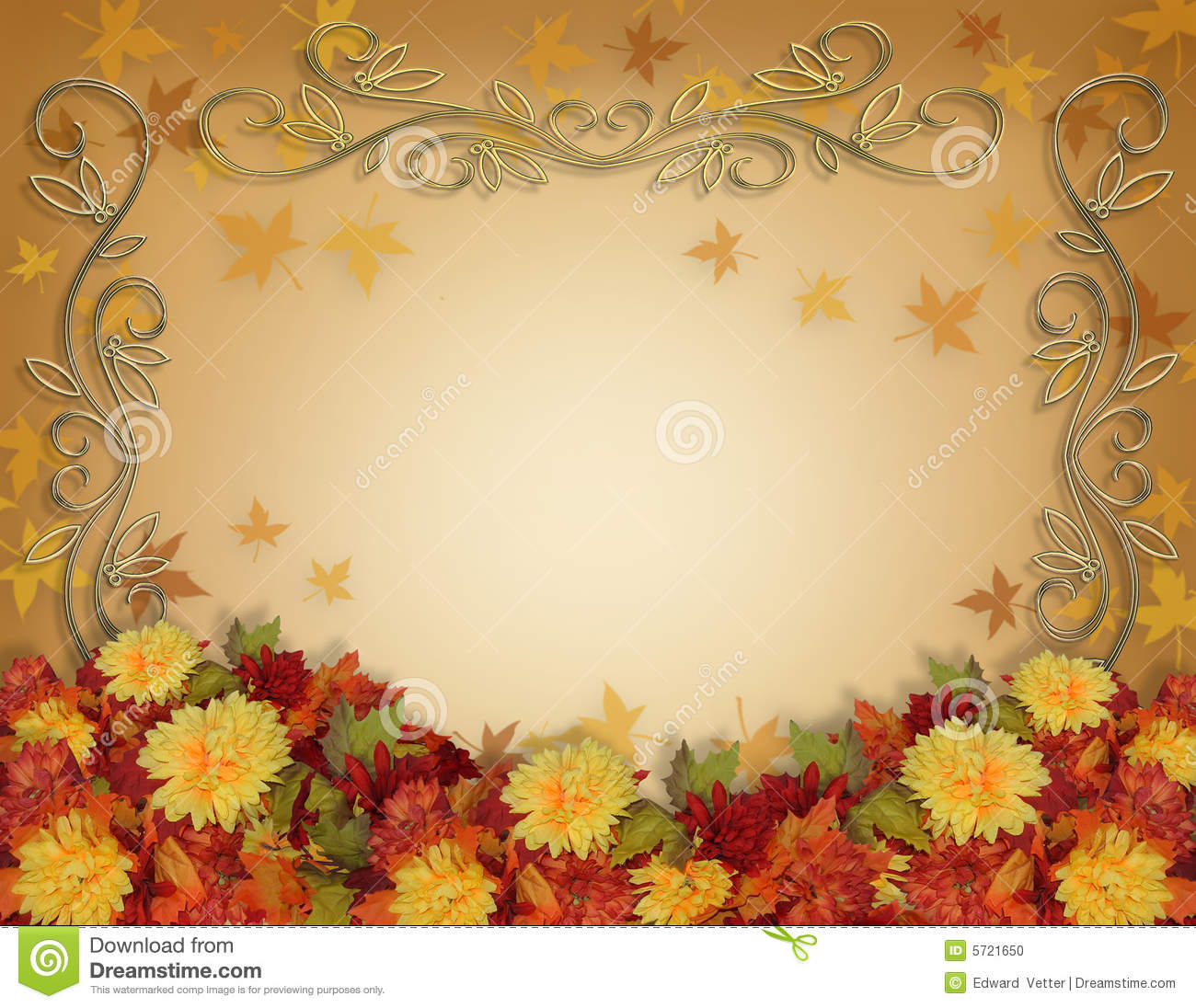 Fall Wedding Invitation Background Designs Fall Best Home And House Interior Design Ideas