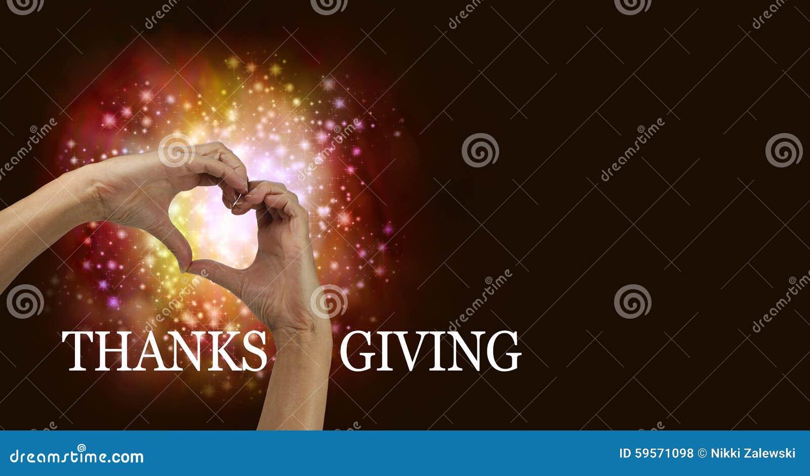 Thanksgiving Heart Hands