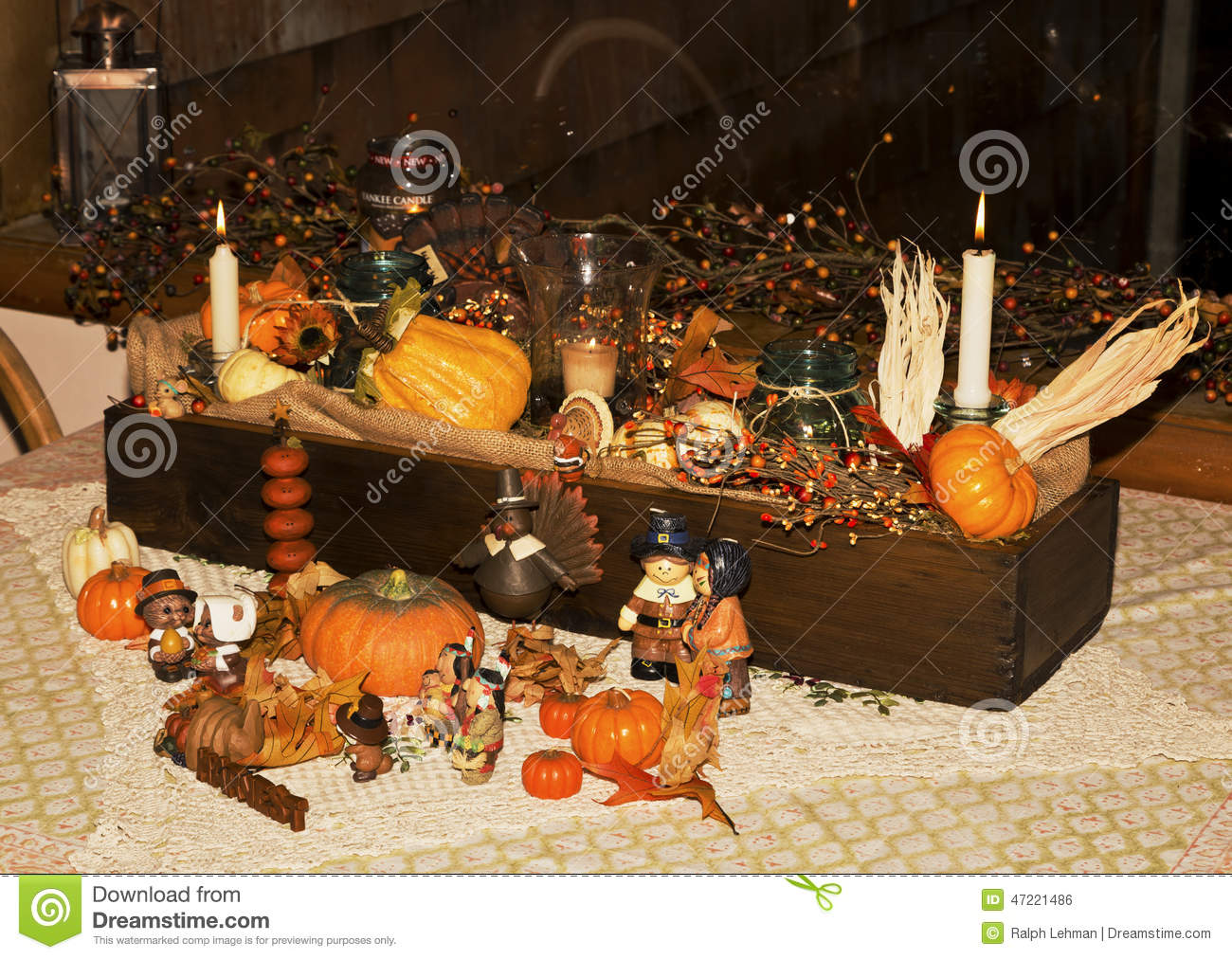 Thanksgiving stock photo image 47221486 for Home made thanksgiving decorations
