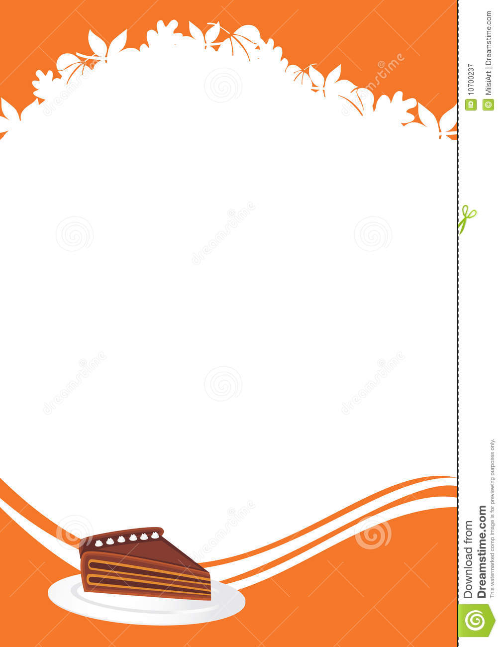 thanksgiving menu template stock vector illustration of brown