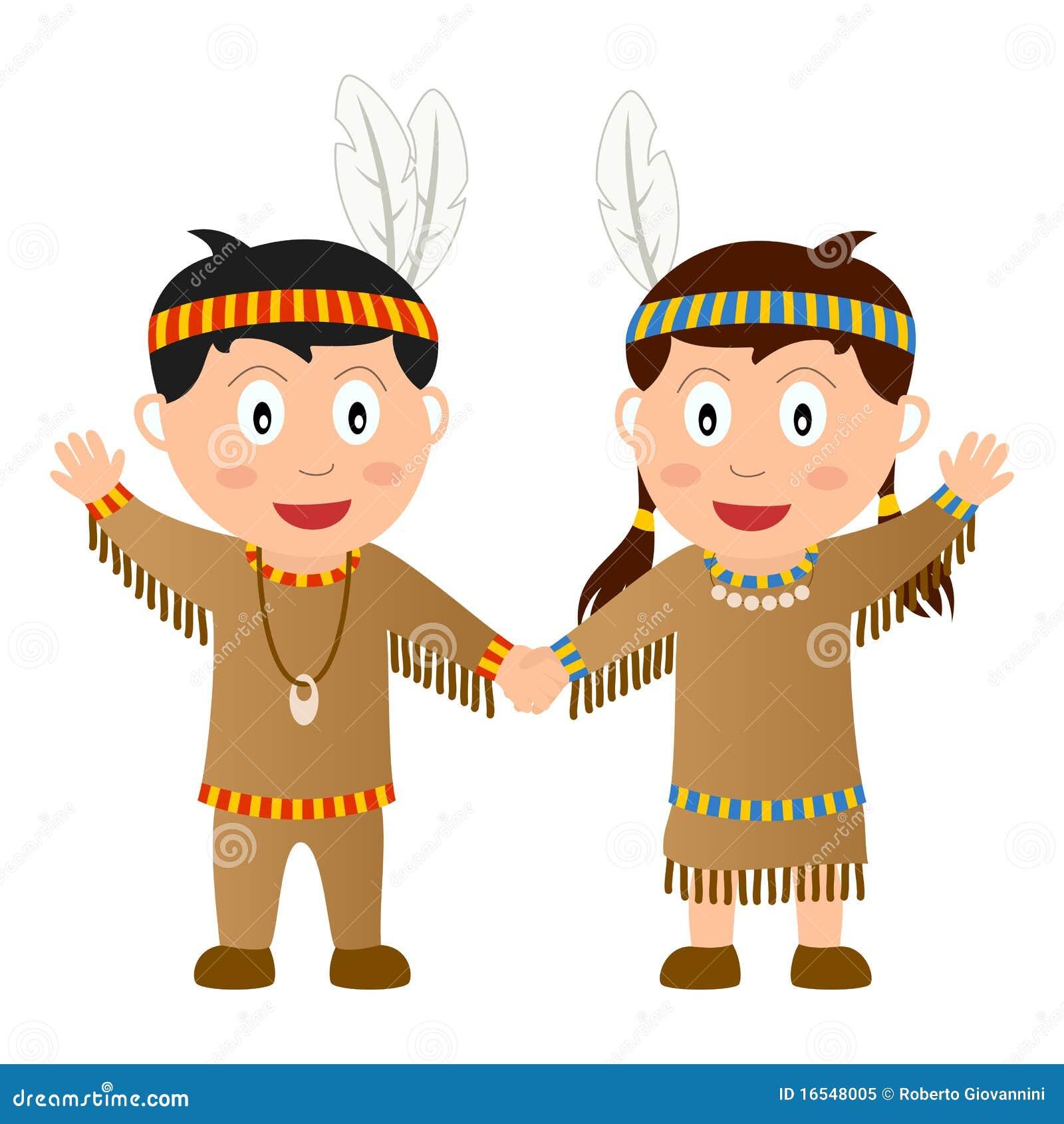 Thanksgiving Native Kids Royalty Free Stock Photo - Image ...