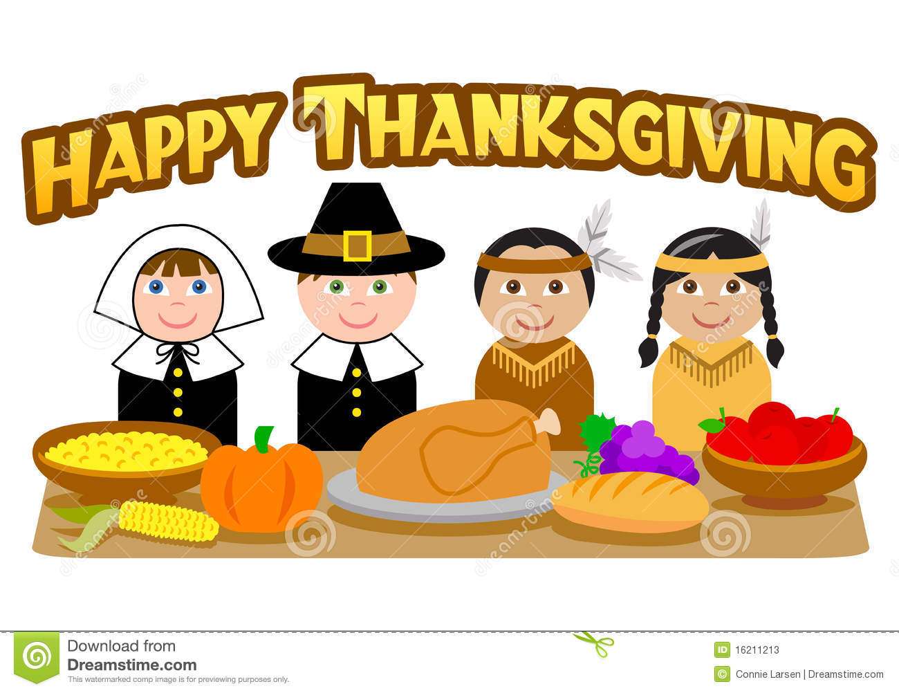 thanksgiving pilgrims and indians eps stock vector illustration of rh dreamstime com thanksgiving indian clipart pilgrim and indian clipart free