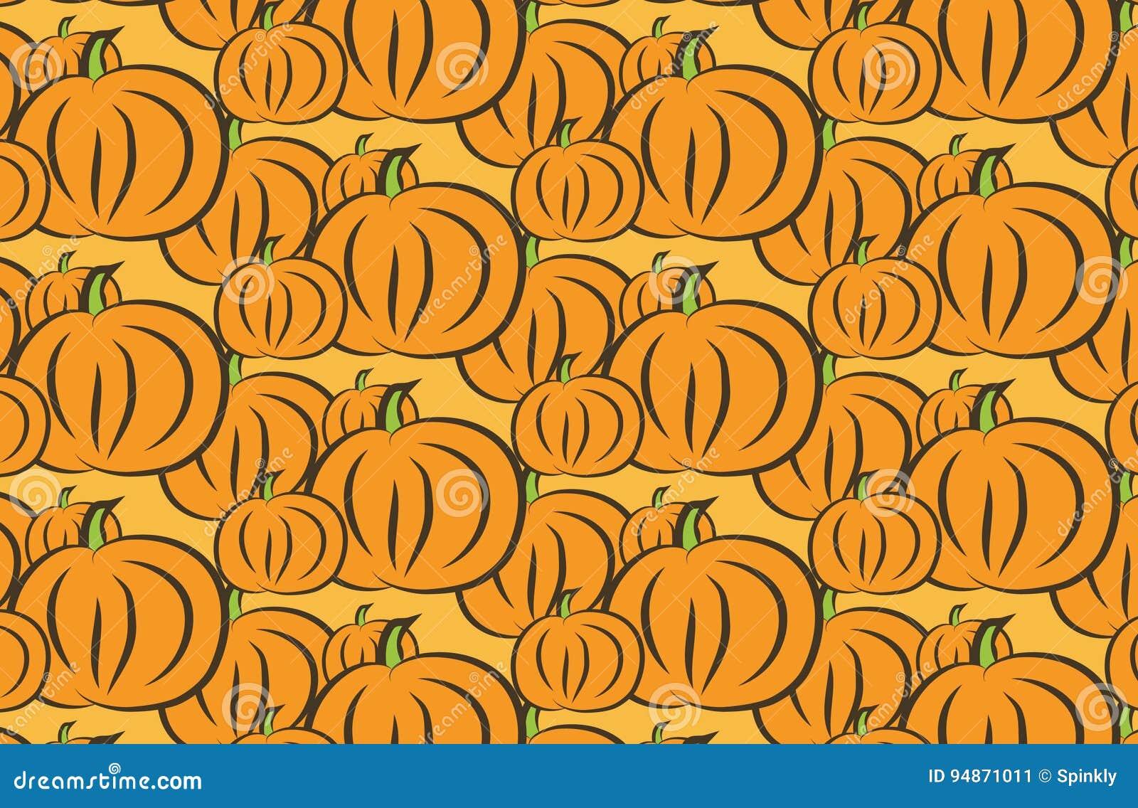 Thanksgiving Wallpaper Stock Illustration Illustration Of