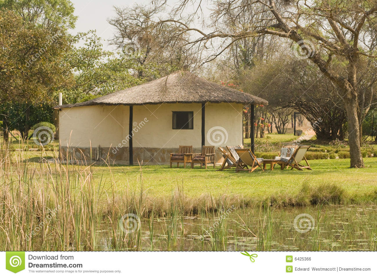 Thatched African House Stock Photo Image Of Structure