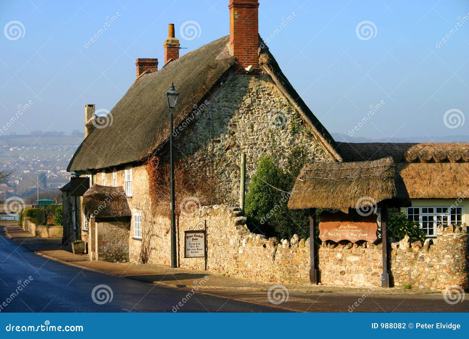 Thatched engelsk pub