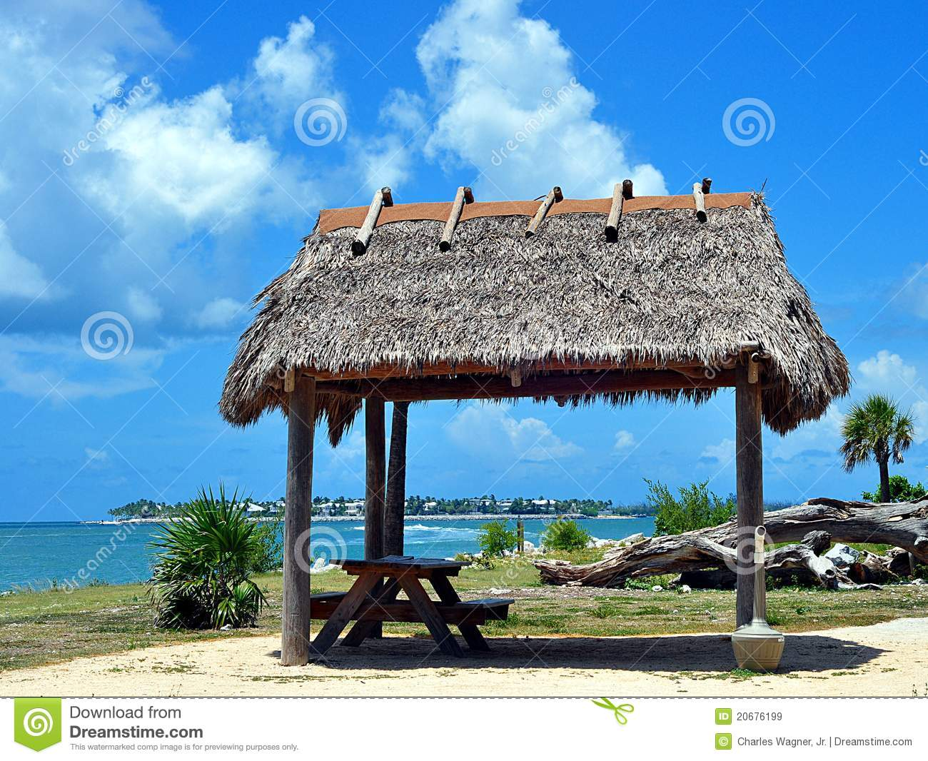 Superior Royalty Free Stock Photo. Download Thatched Roof Tiki Hut ...