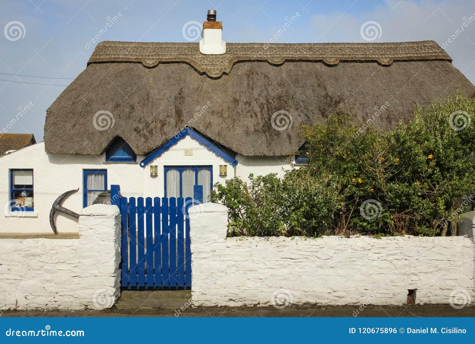 Thatched stuga Kilmore kaj ståndsmässiga Wexford ireland