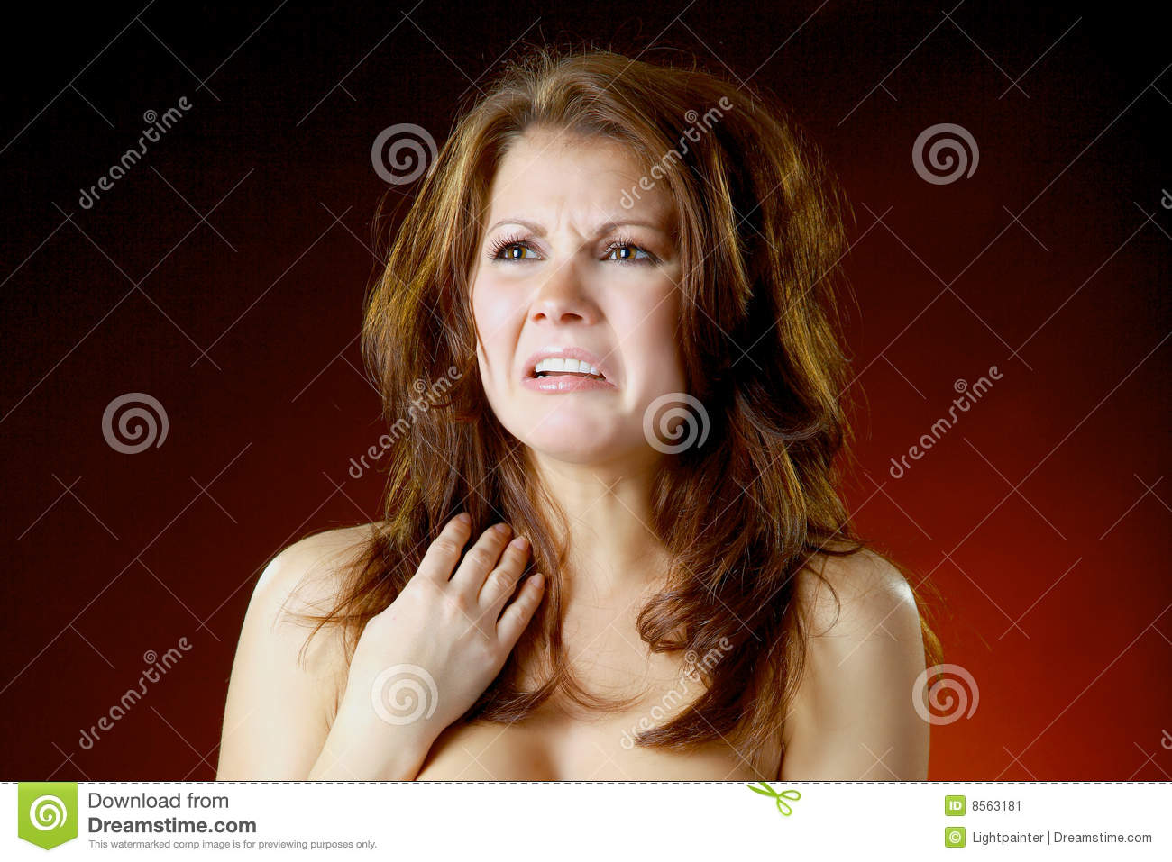 Thats gross stock image. Image of skin, woman, close ...