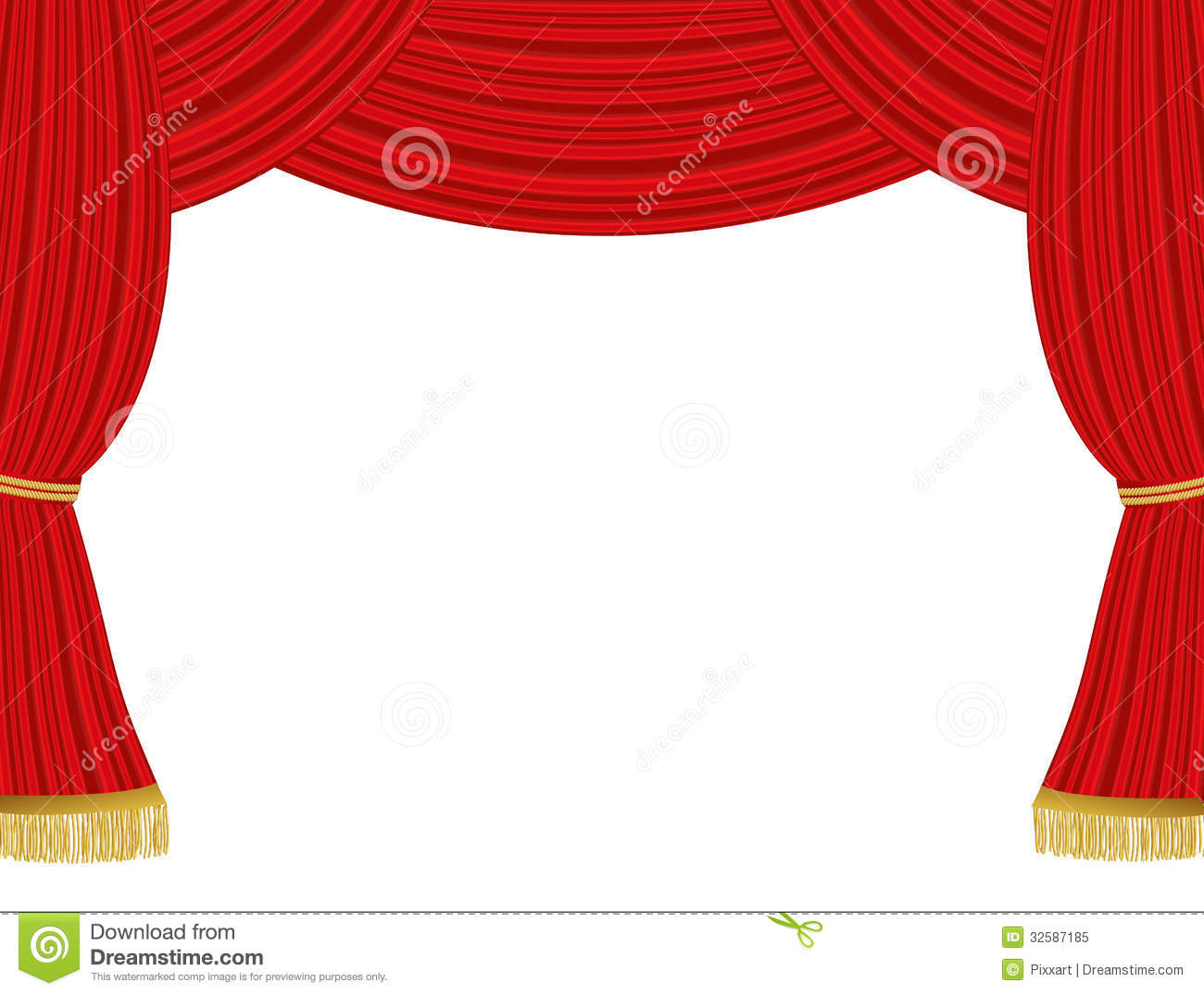 Theater curtains background royalty free stock photo image 32587185
