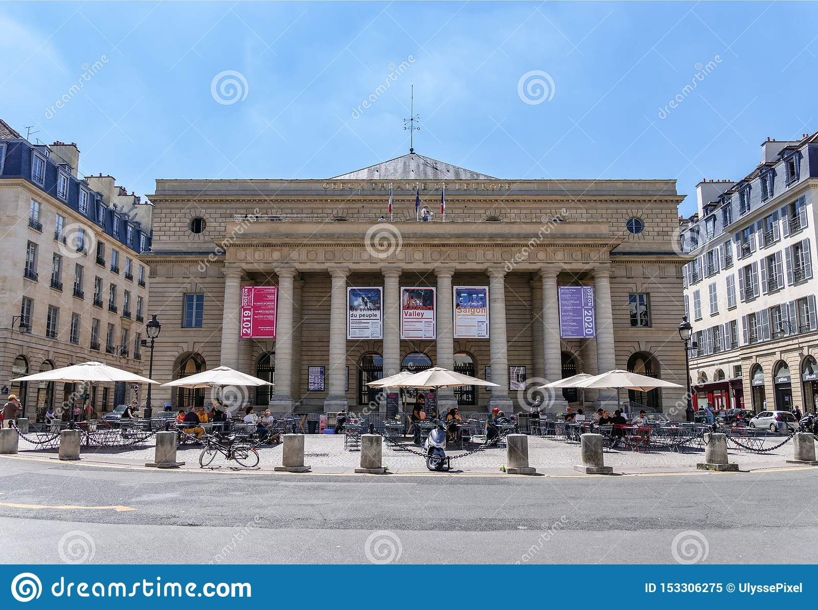 Theater de l 'Odeon im 6. Arrondissement von Paris