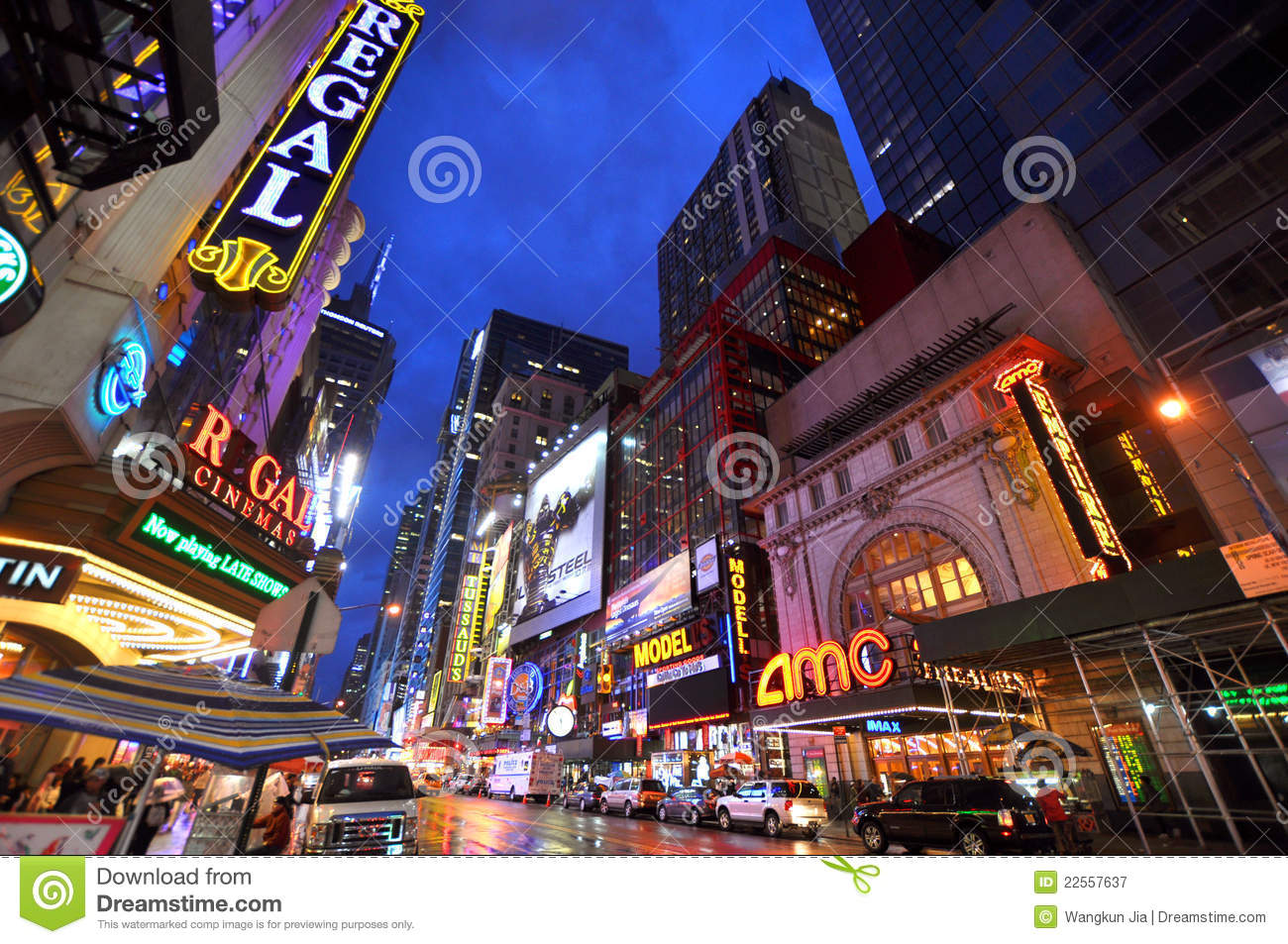 Theater District Manhattan New York City Editorial Photography Image 225