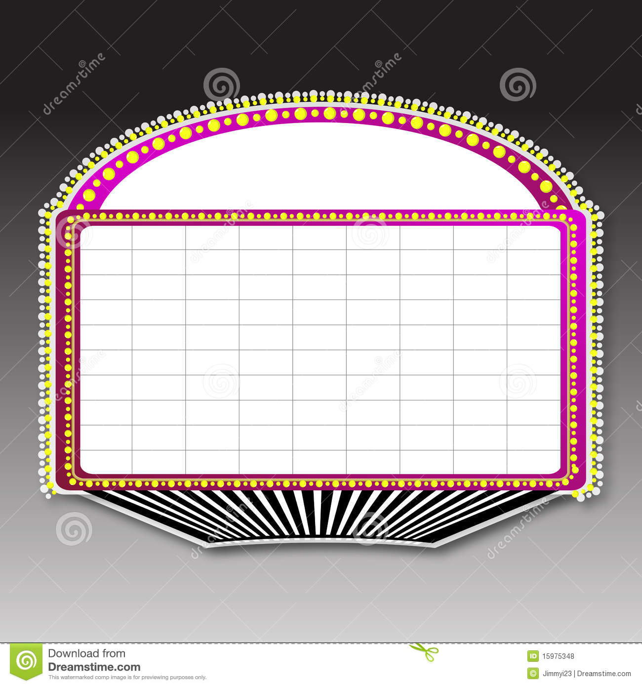 Royalty free stock photos theater marquee sign