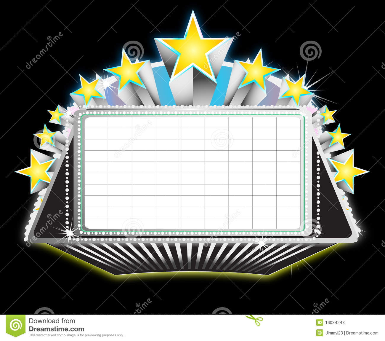 Broadway marquee clipart driverlayer search engine for Theatre sign clipart