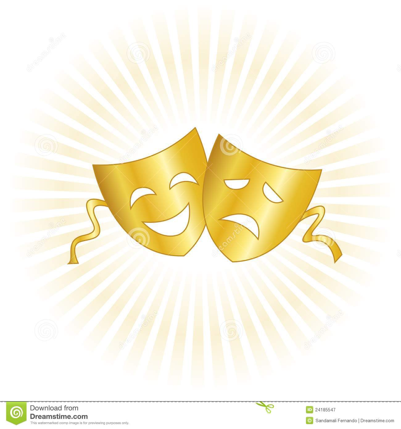 theater masks royalty free stock photography image 24185547