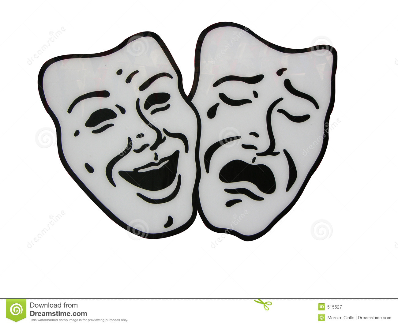 Theater Masks R...