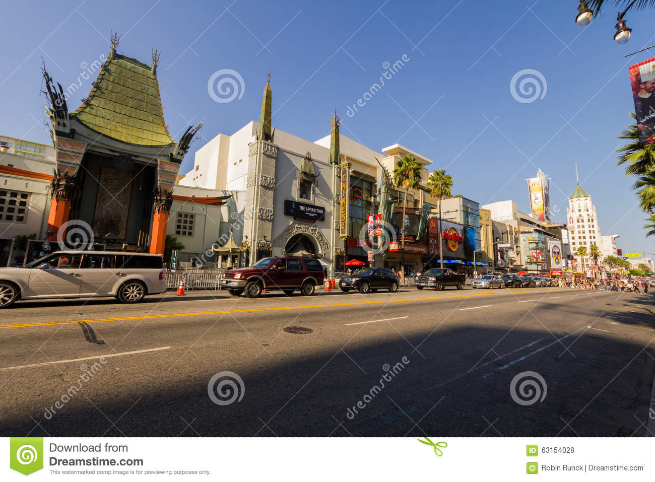 Theaters op de gang van bekendheid, Hollywood, Los Angeles