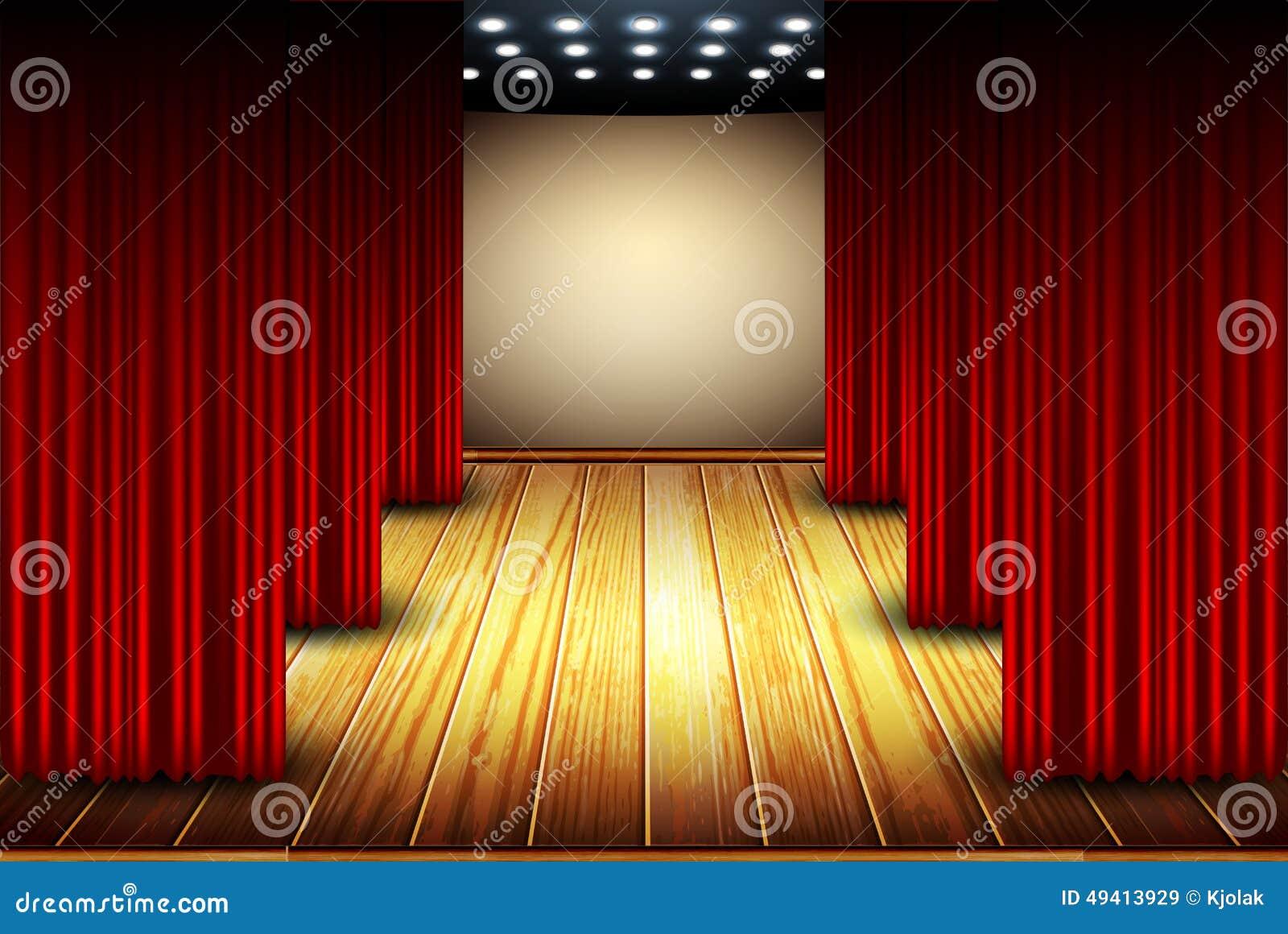 Download Theaterstadium vektor abbildung. Illustration von film - 49413929