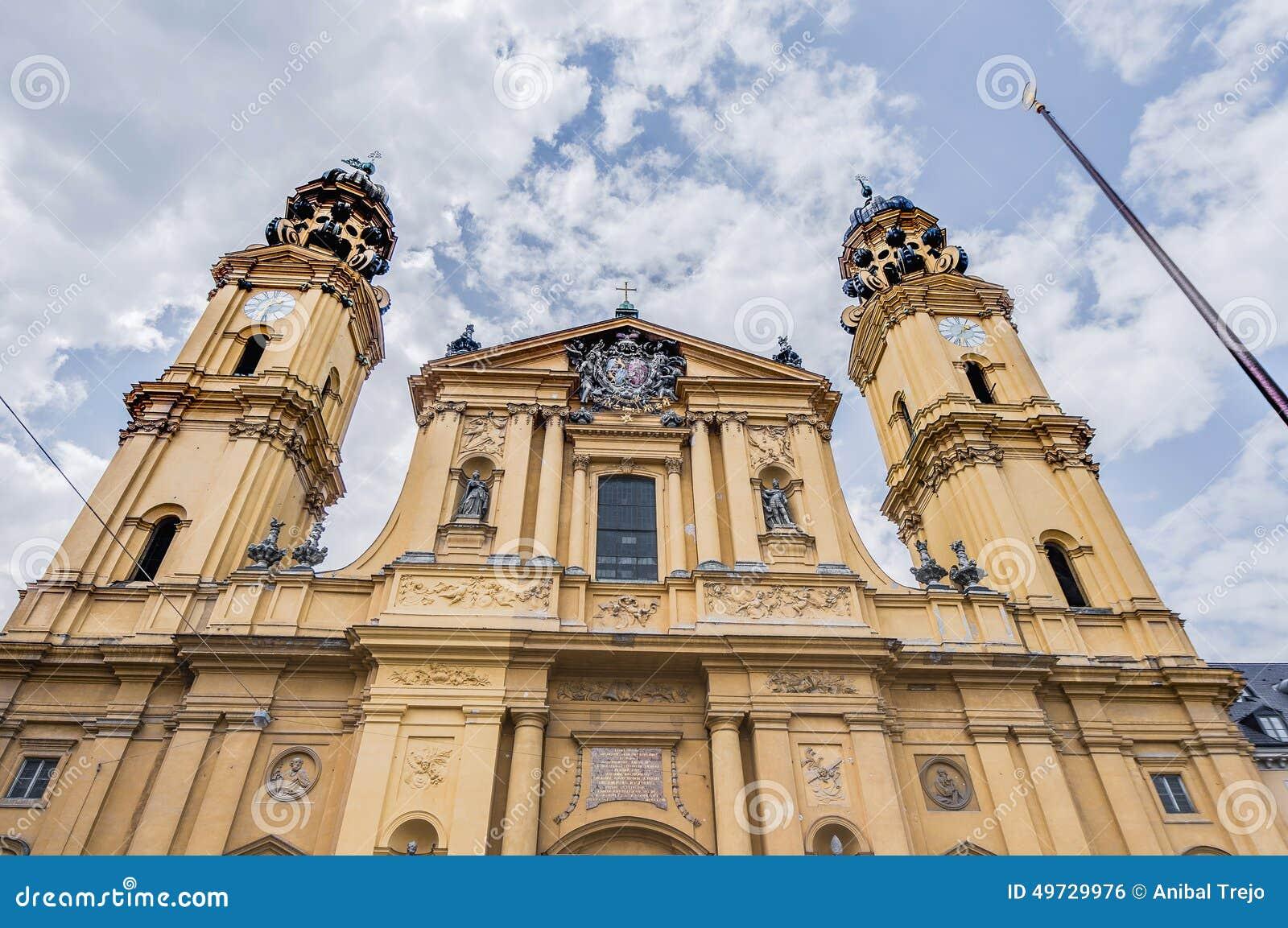 Theatinerkirche St Kajetan in München, Duitsland