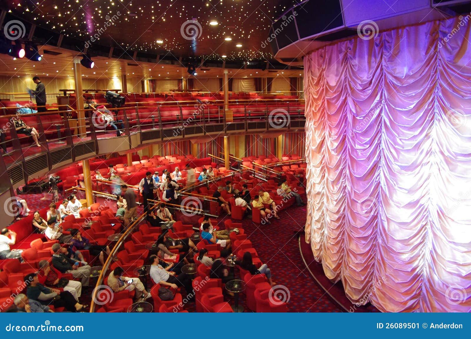 Theatre in cruise Costa Victoria