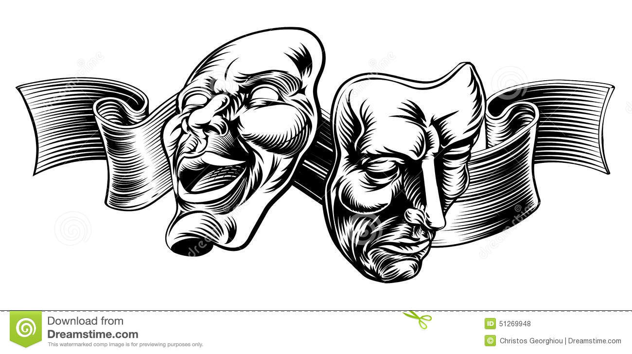 tragedy in theatre Tragedy in drama when most of us think of the theatre, we usually picture the  two masks representing comedy and drama regardless of whether the play.