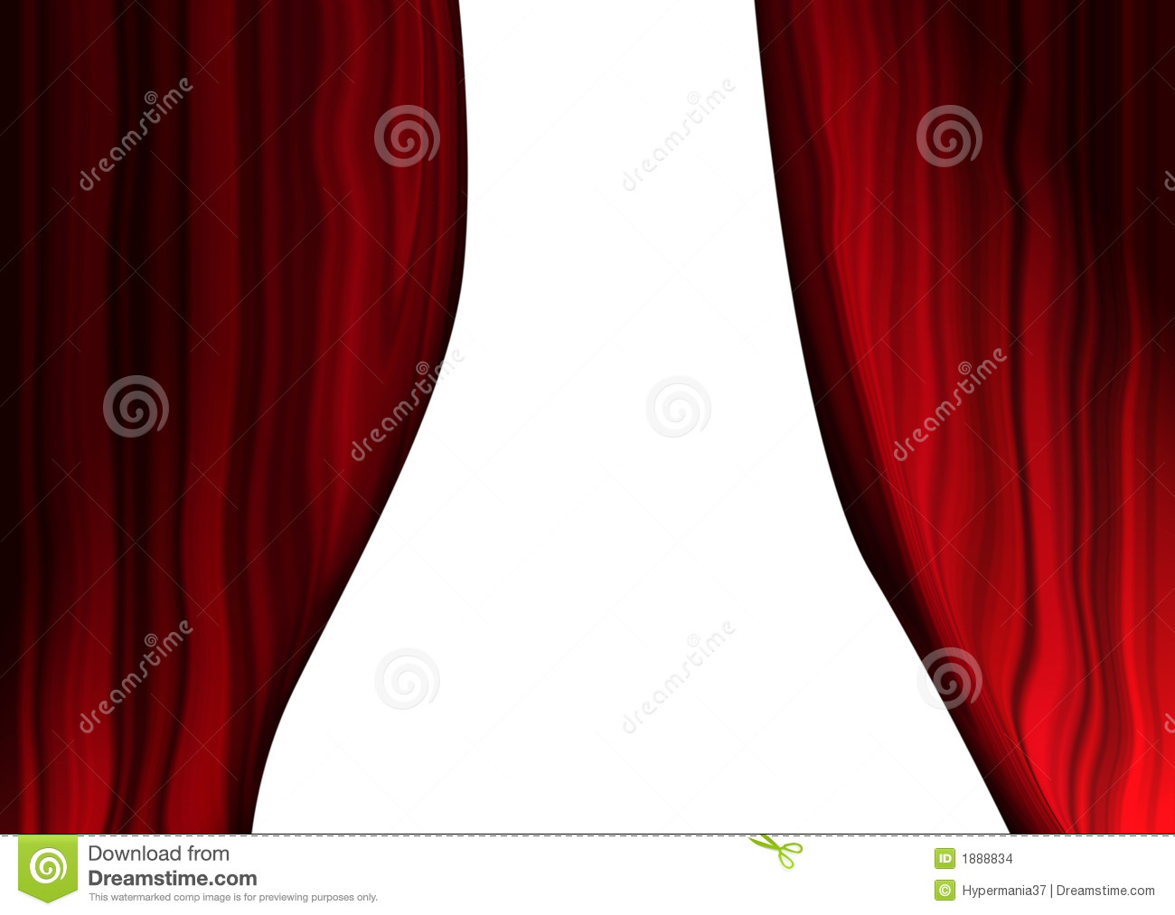 Theatrical Curtains Stock Images - Image: 1888834
