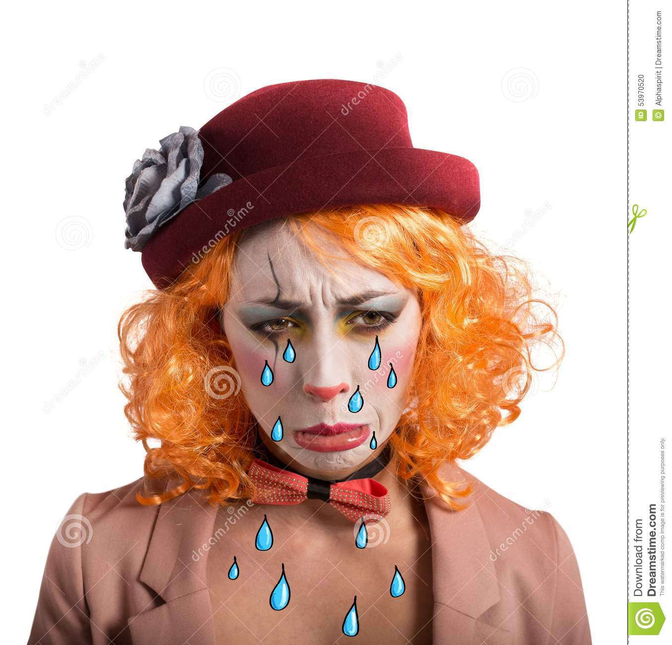 Sad Clown Stock Images Download 2 965 Royalty Free Photos