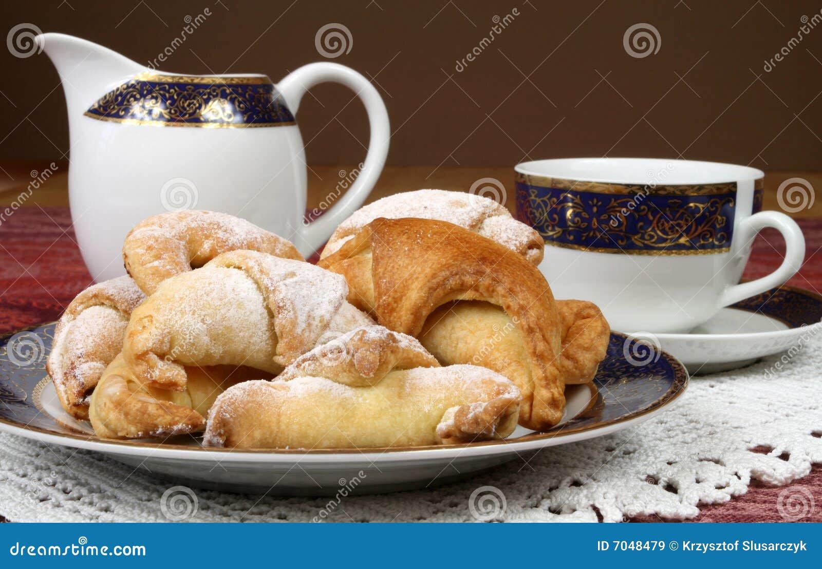 Thee en koekjes
