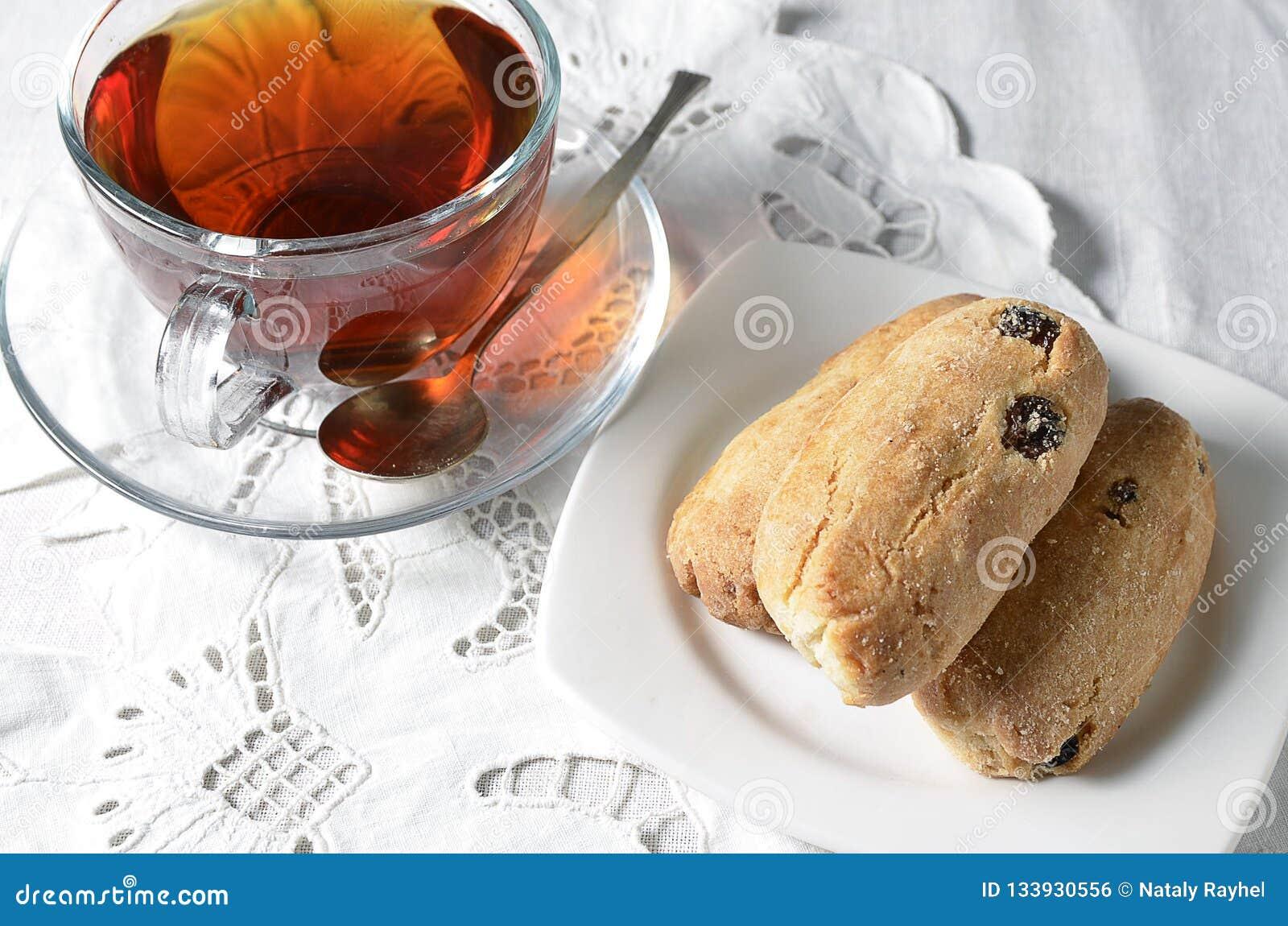 Thee met koekje