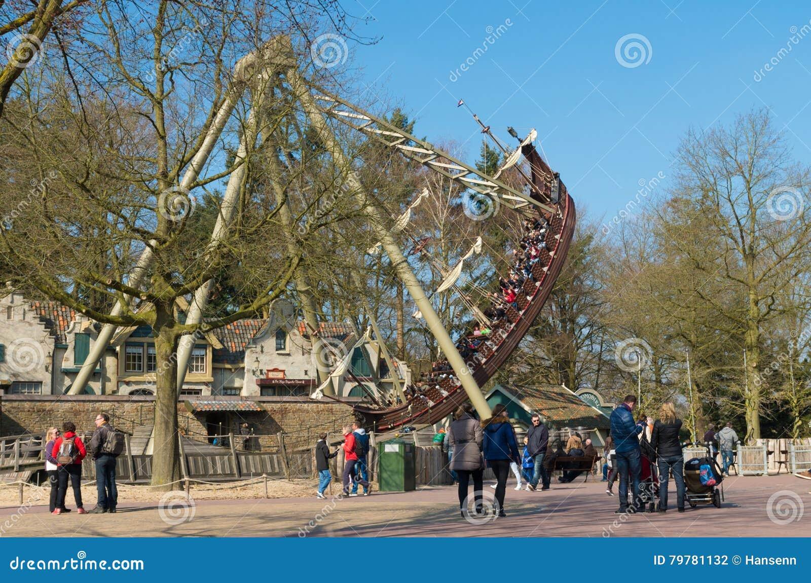 Themapark Efteling in Nederland
