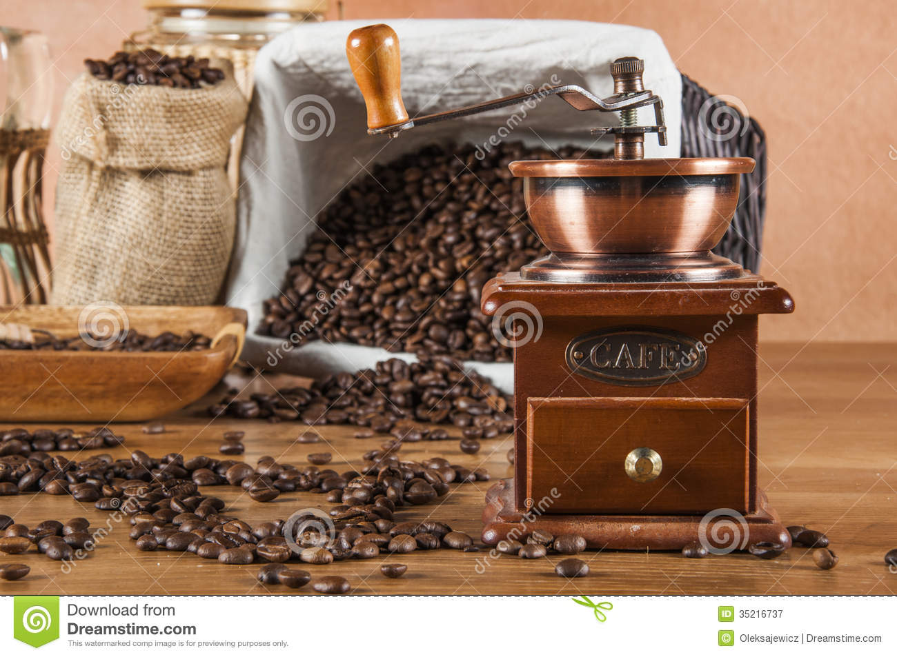 Theme Of Coffee And Italian Cafe Stock Image Image 35216737