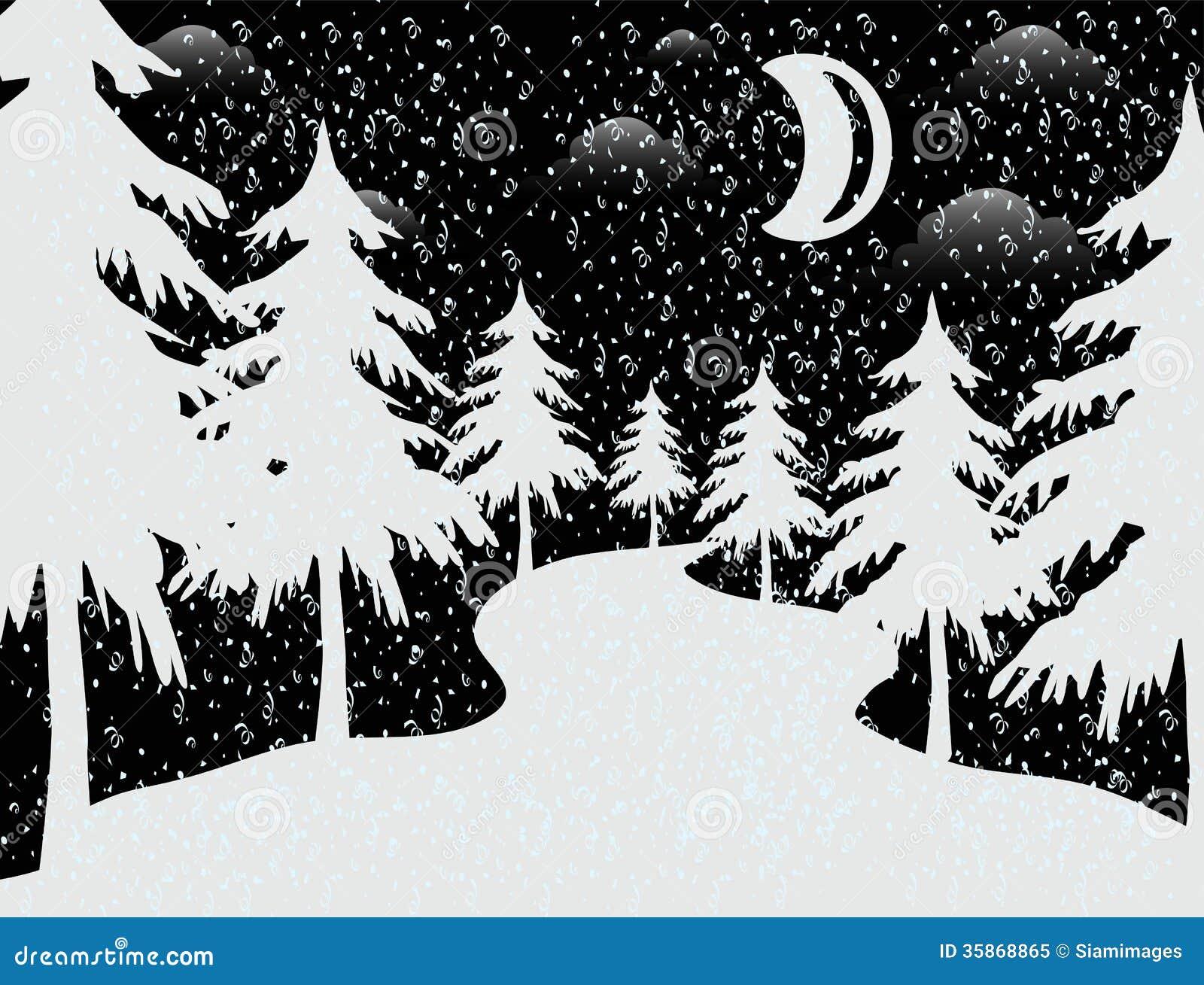 Themen Der Frohen Weihnachten Stock Abbildung - Illustration von ...