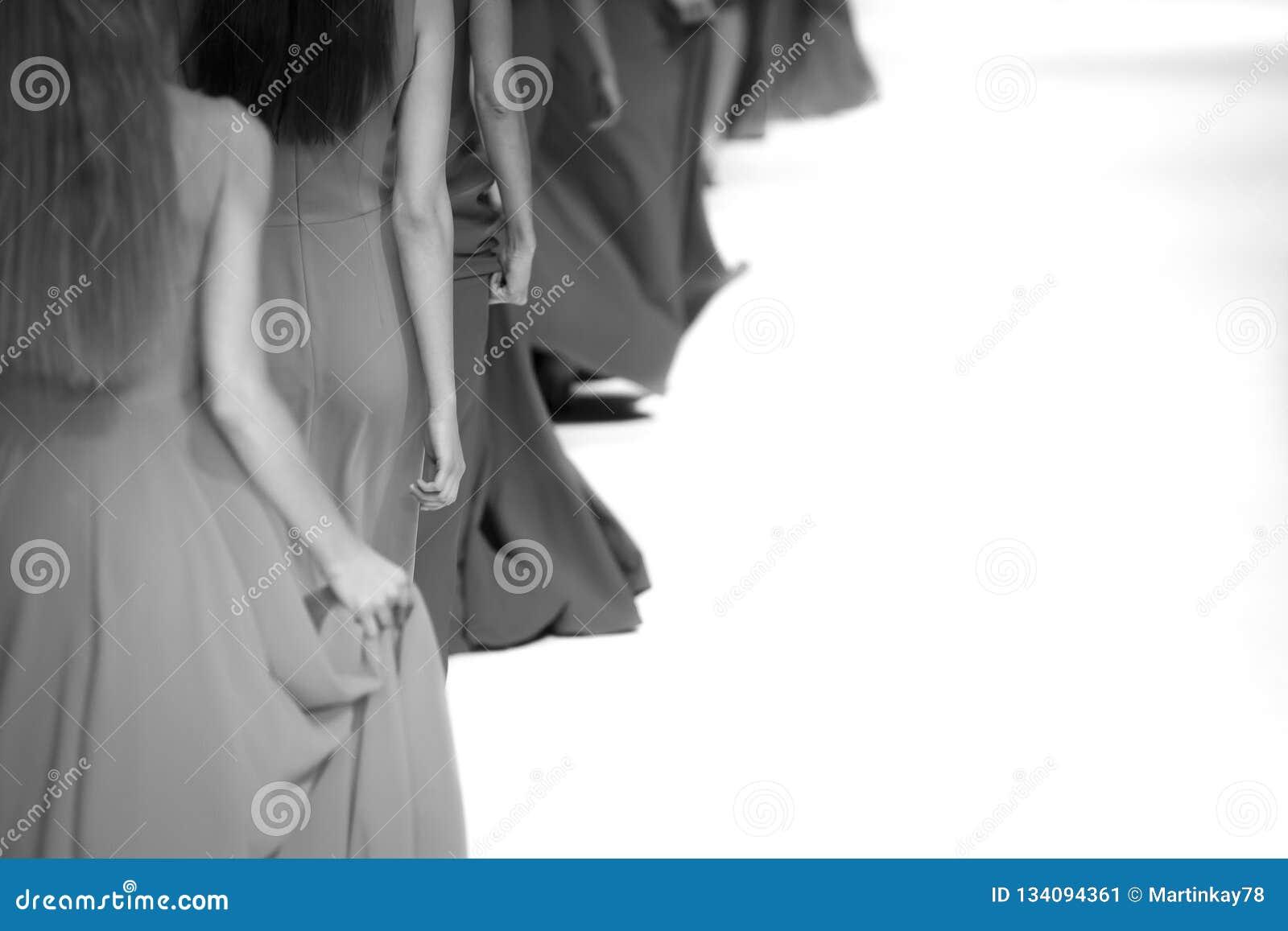 Themenorientiertes Foto der Modeschau