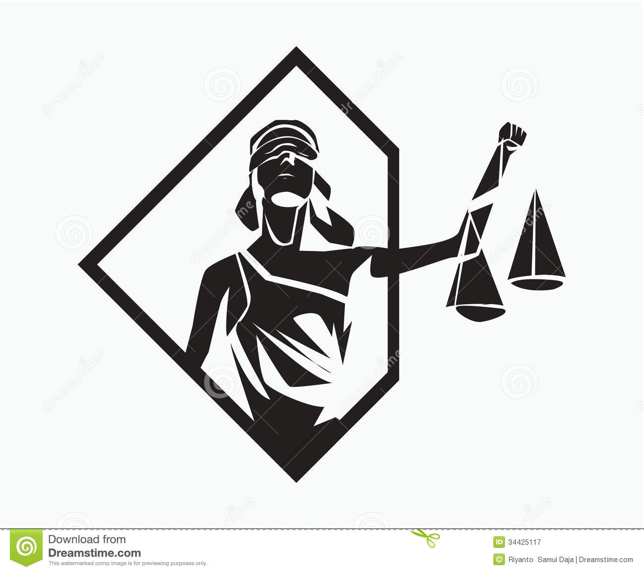 Blind Lady Justice Images Themis Symbol Royalty ...