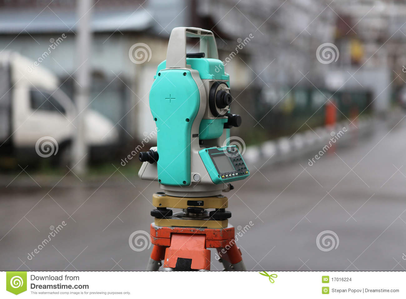 how to read a theodolite