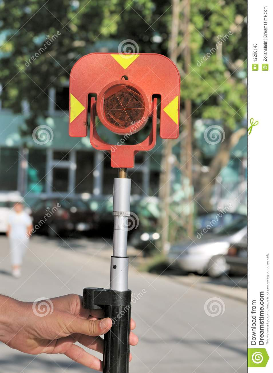 Theodolite Prism Royalty Free Stock Image Image 12298146
