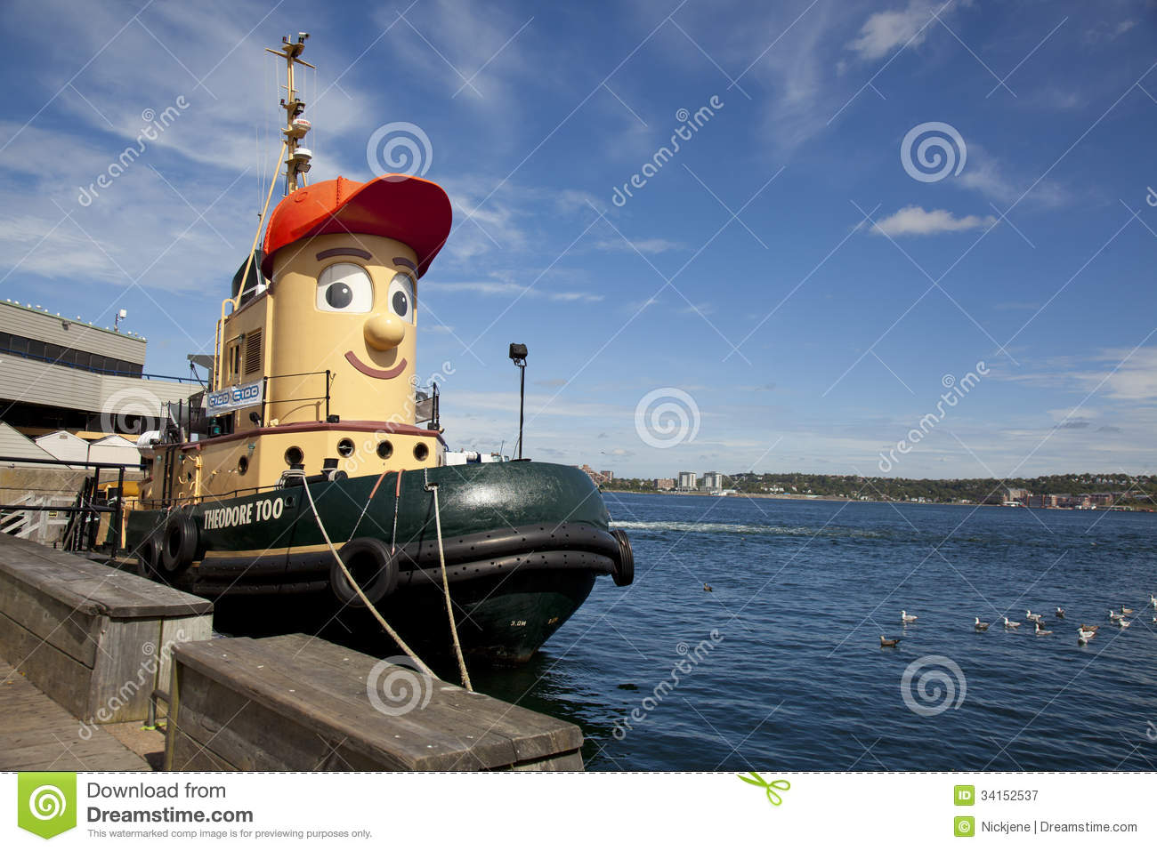 Theodore Tugboat Editorial Photography - Image: 34152537