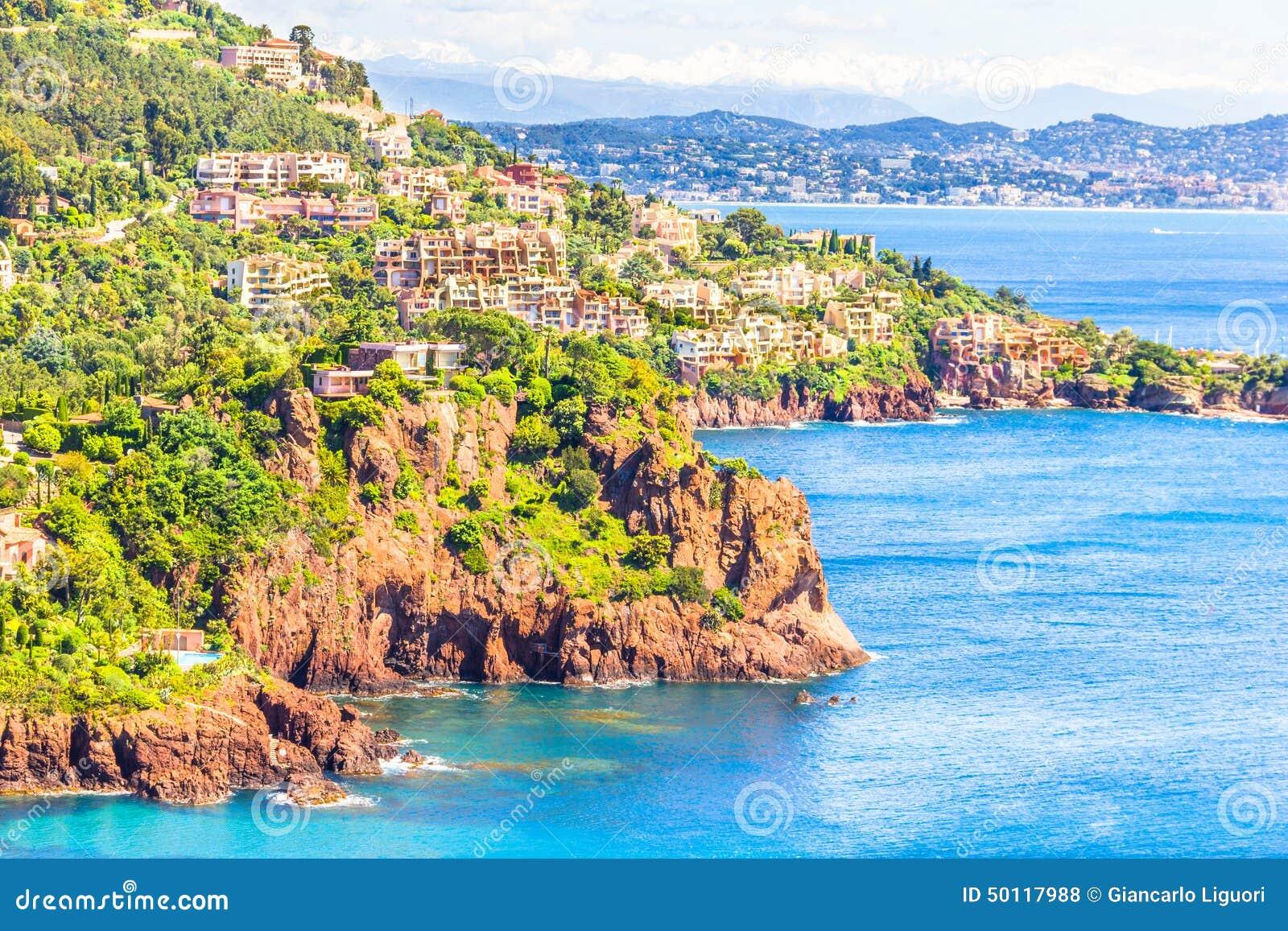 Theoule sura Mer, południe Francja