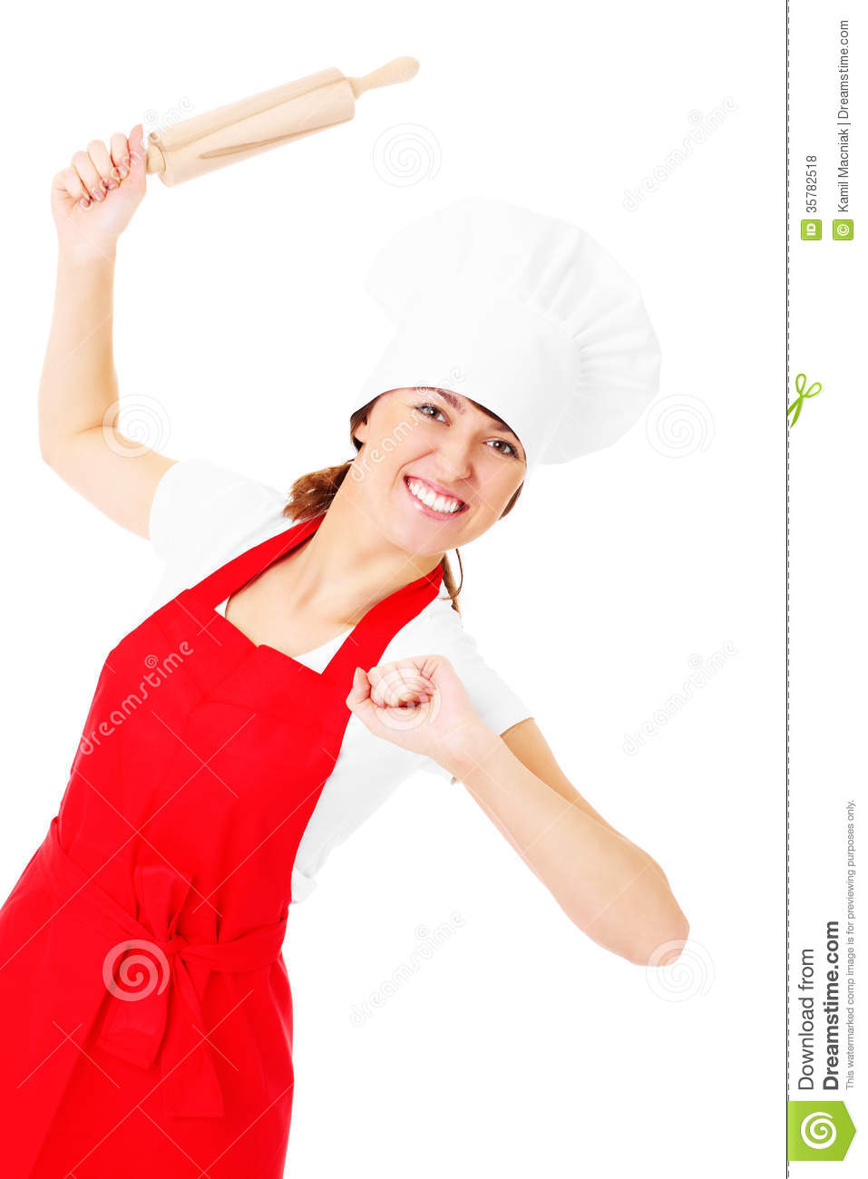 Is There A Chef In The Kitchen? Stock Photo - Image of happy ...